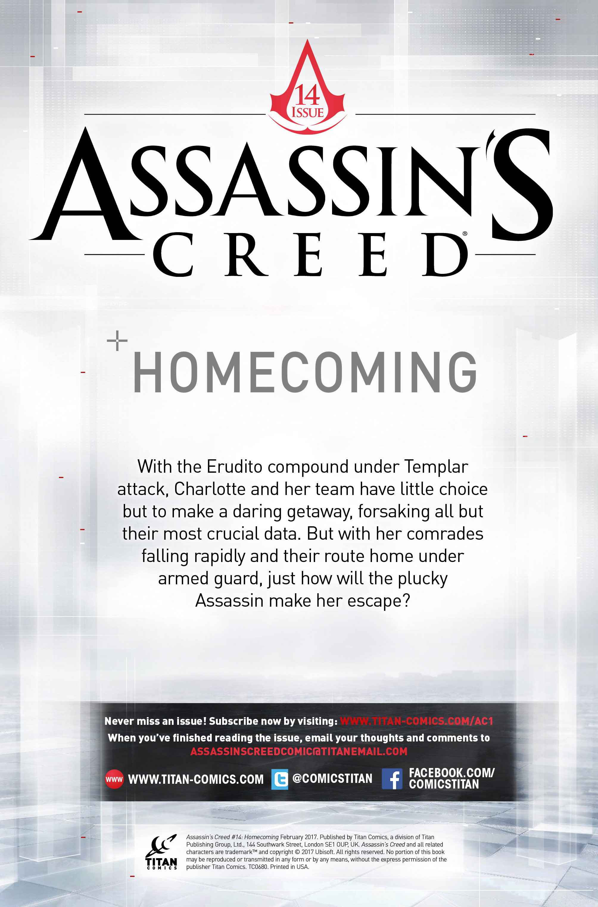 Read online Assassin's Creed (2015) comic -  Issue #14 - 2