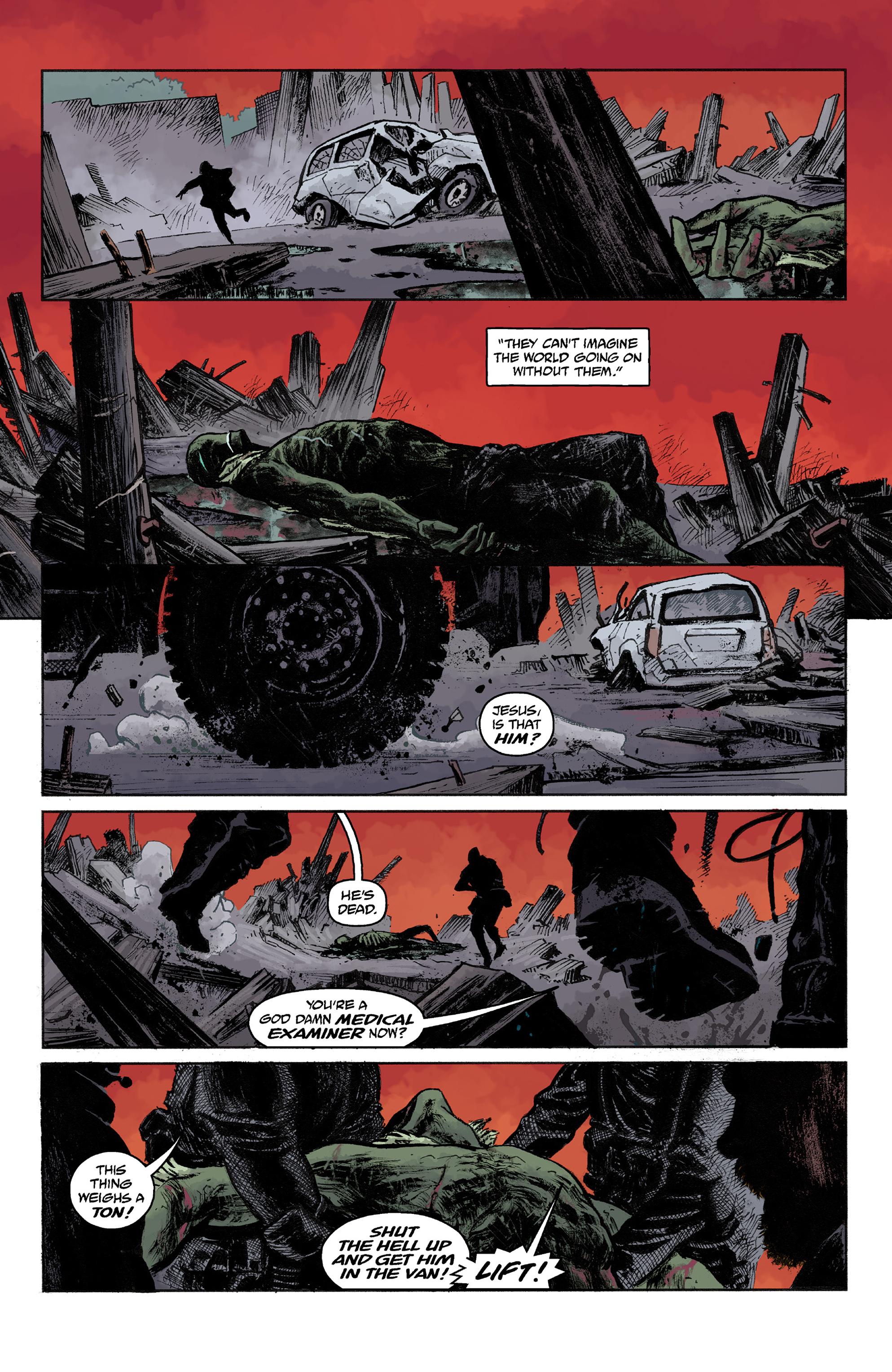 Read online Abe Sapien comic -  Issue #36 - 23