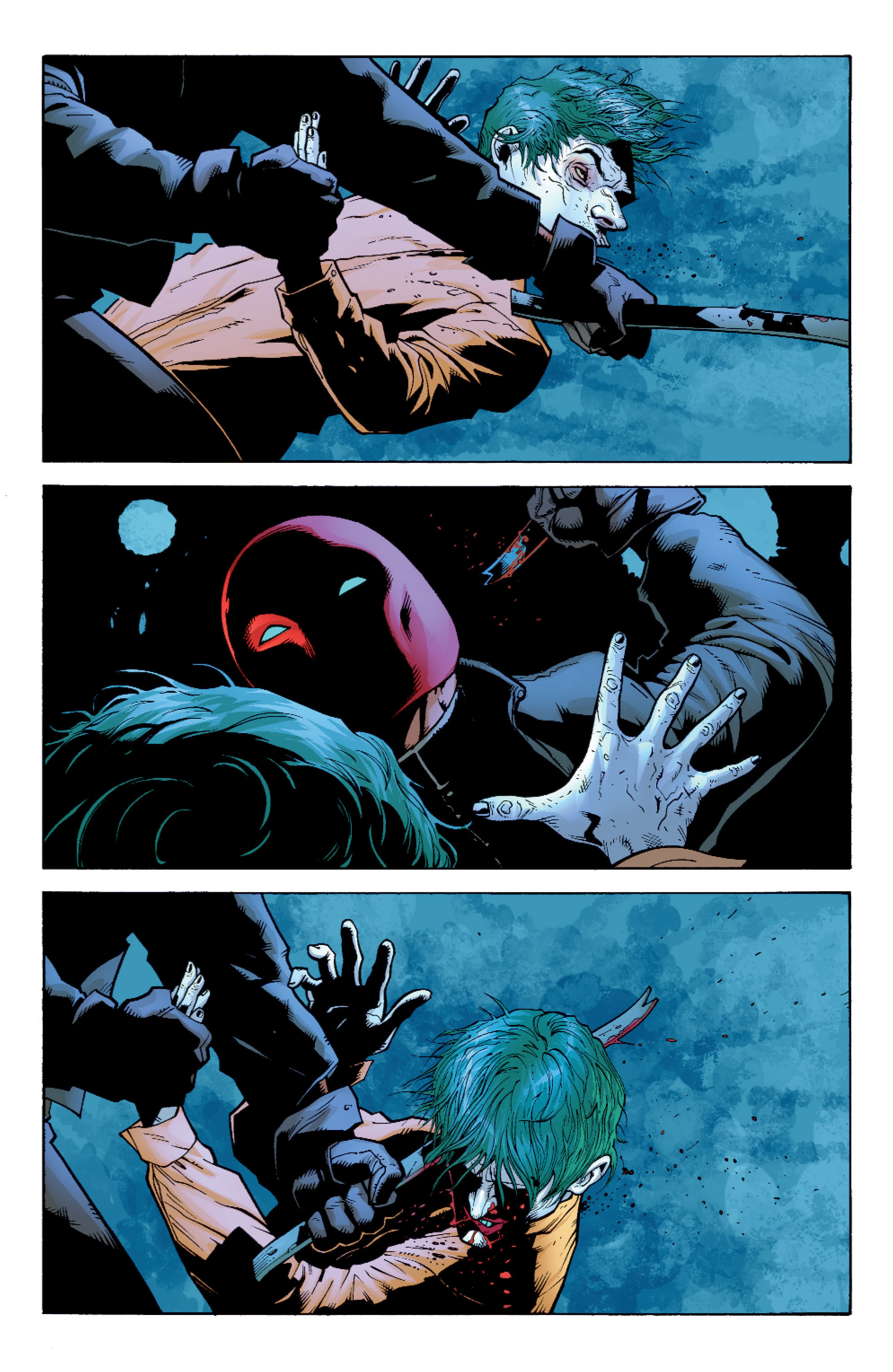 Read online Batman: Under The Red Hood comic -  Issue # Full - 99