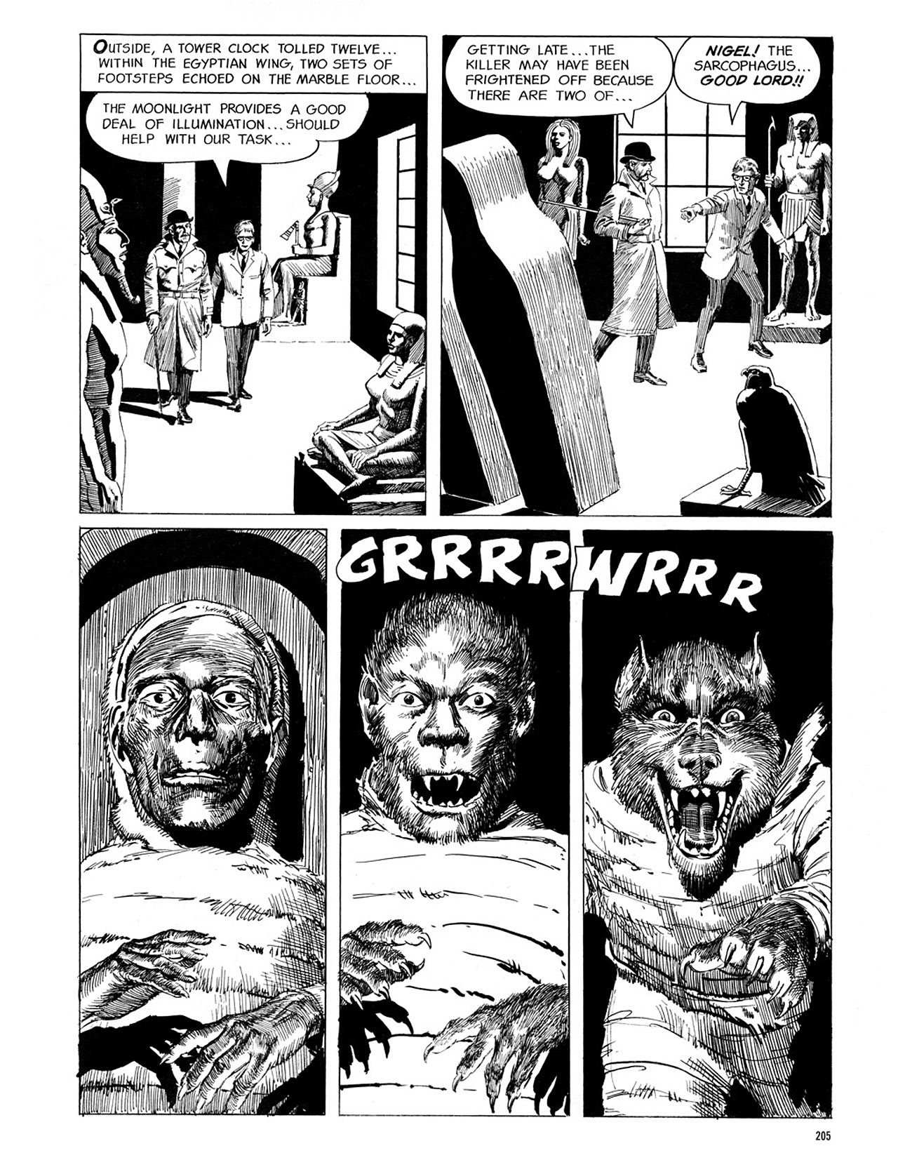 Read online Eerie Archives comic -  Issue # TPB 1 - 206