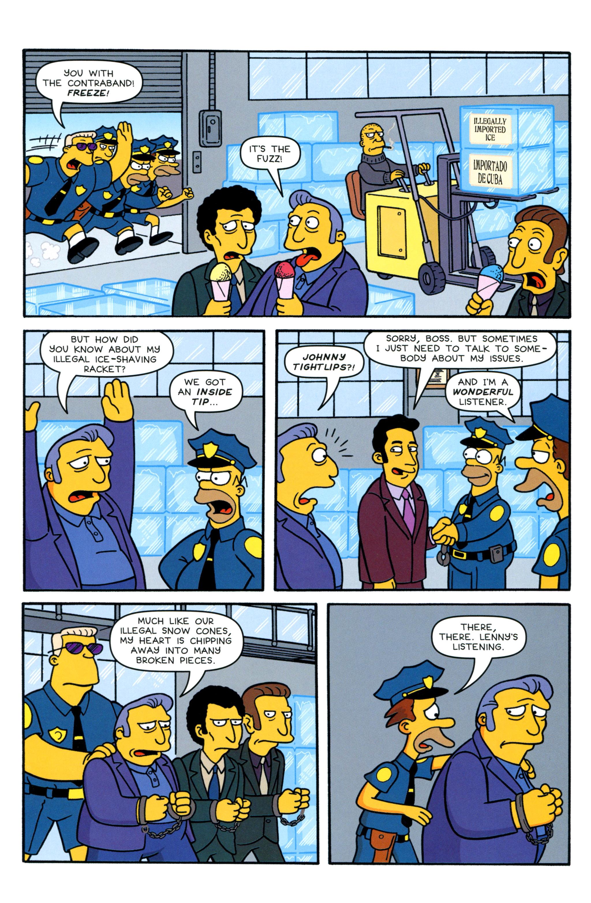 Read online Simpsons Comics comic -  Issue #210 - 17
