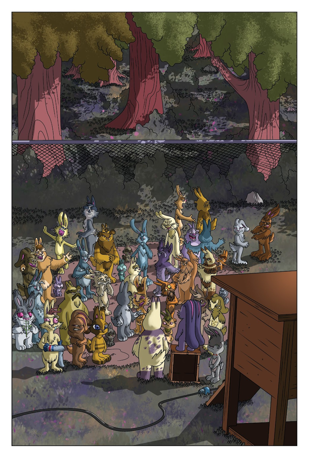 Read online Auntie Agatha's Home For Wayward Rabbits comic -  Issue #5 - 4