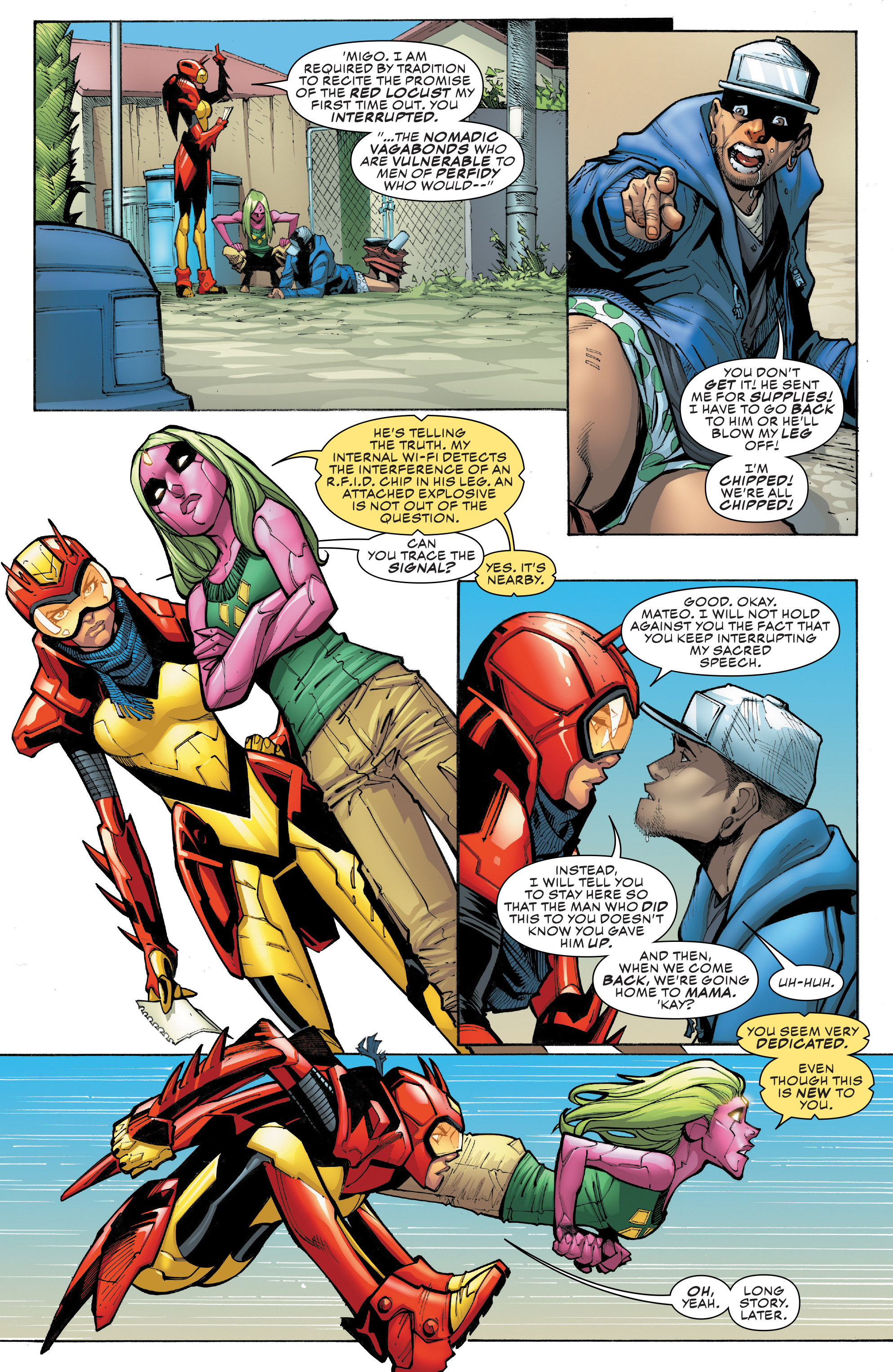 Read online Champions (2016) comic -  Issue #9 - 12