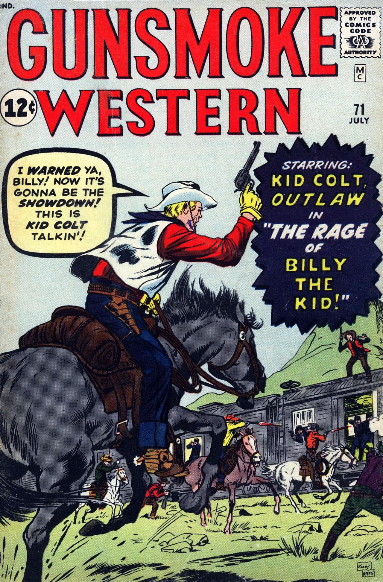 Gunsmoke Western 71 Page 1