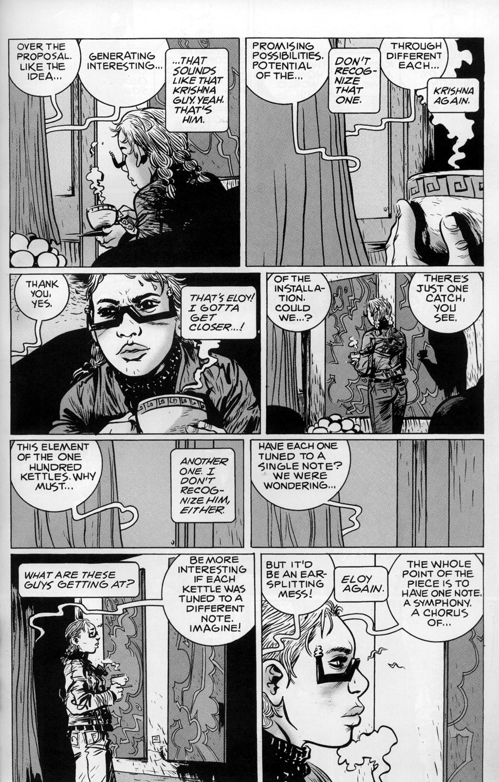 Read online 100% comic -  Issue #4 - 38