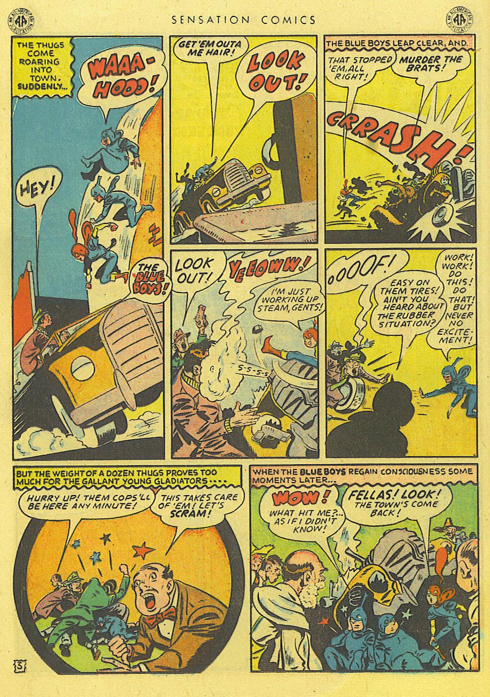 Read online Sensation (Mystery) Comics comic -  Issue #39 - 24