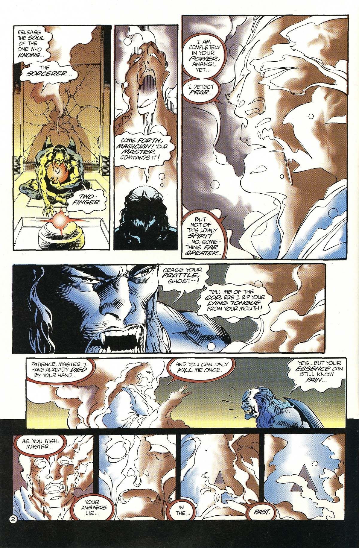 Read online Rune (1994) comic -  Issue #7 - 4