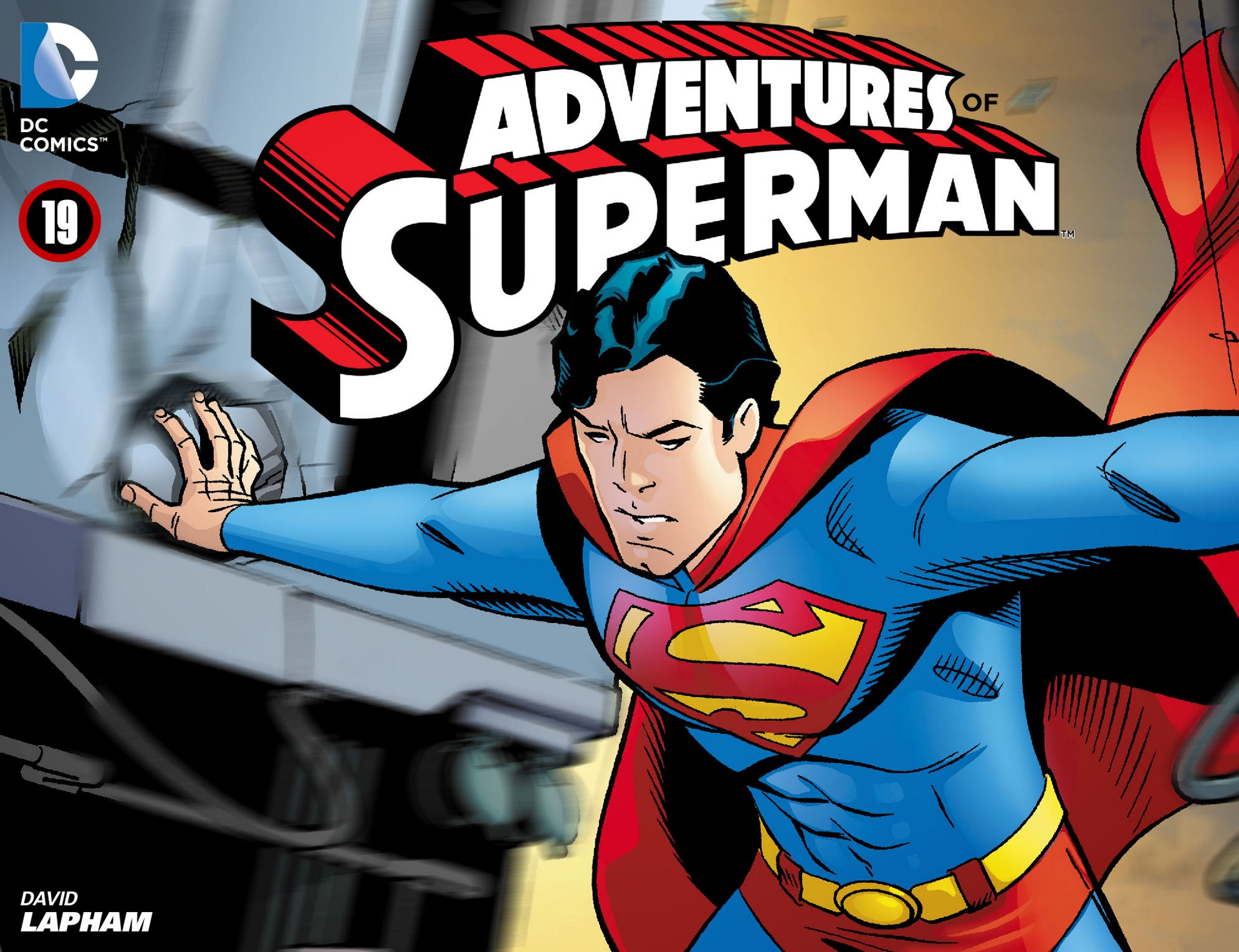 Read online Adventures of Superman [I] comic -  Issue #19 - 1