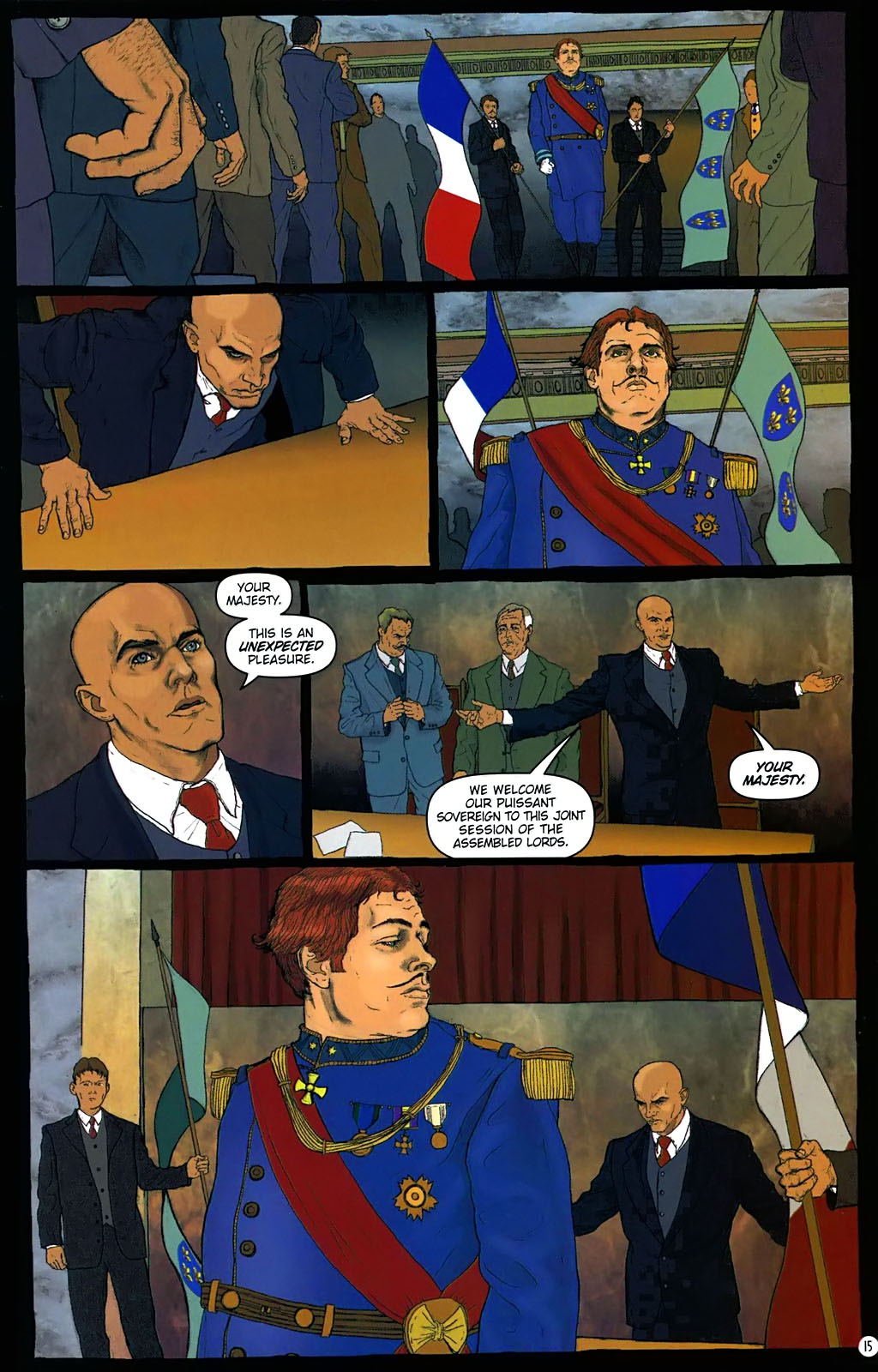 Read online Rex Mundi comic -  Issue #15 - 19