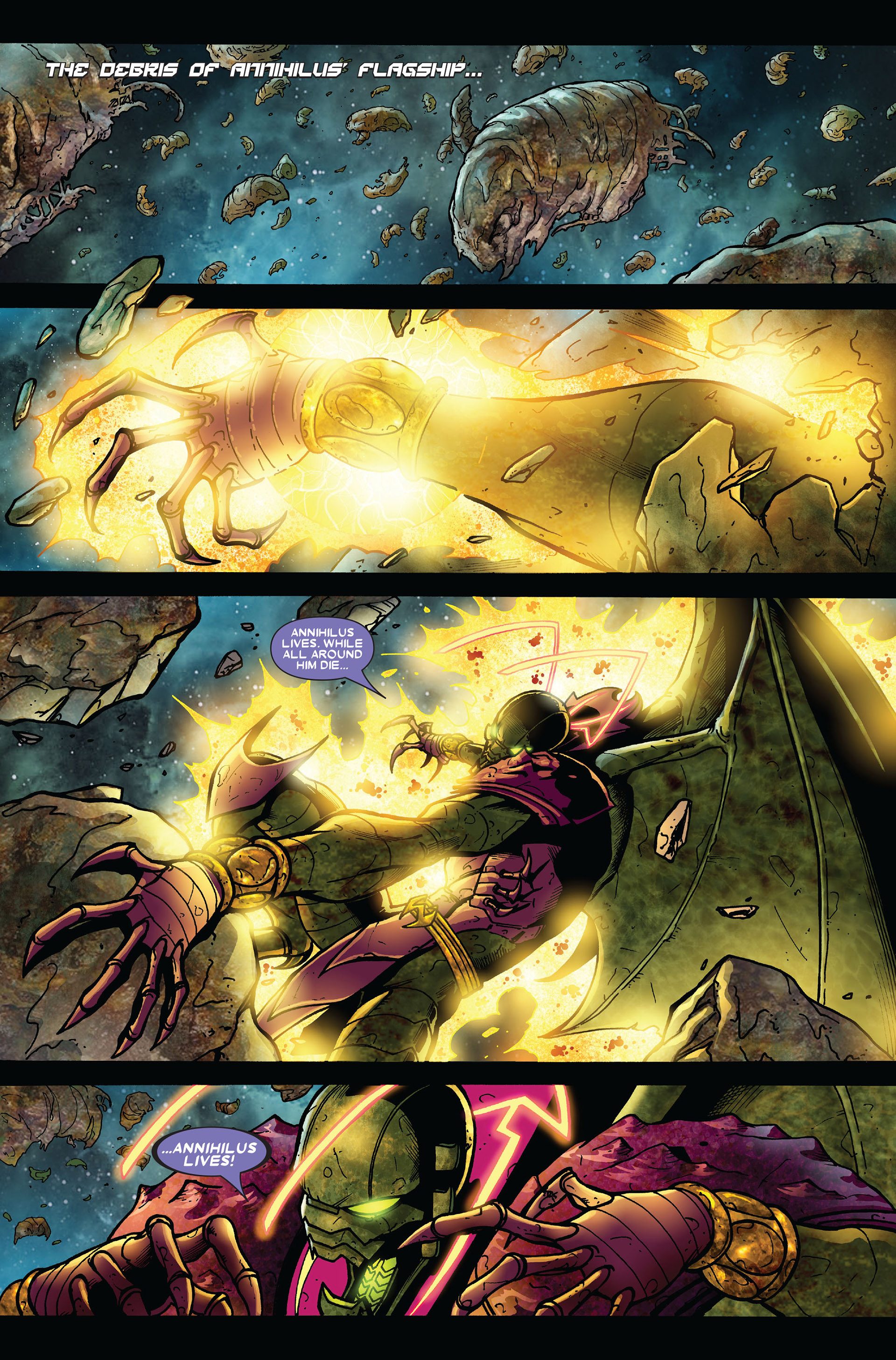 Read online Annihilation comic -  Issue #6 - 11