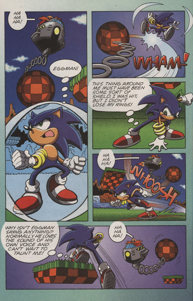 Read online Sonic X comic -  Issue #10 - 18