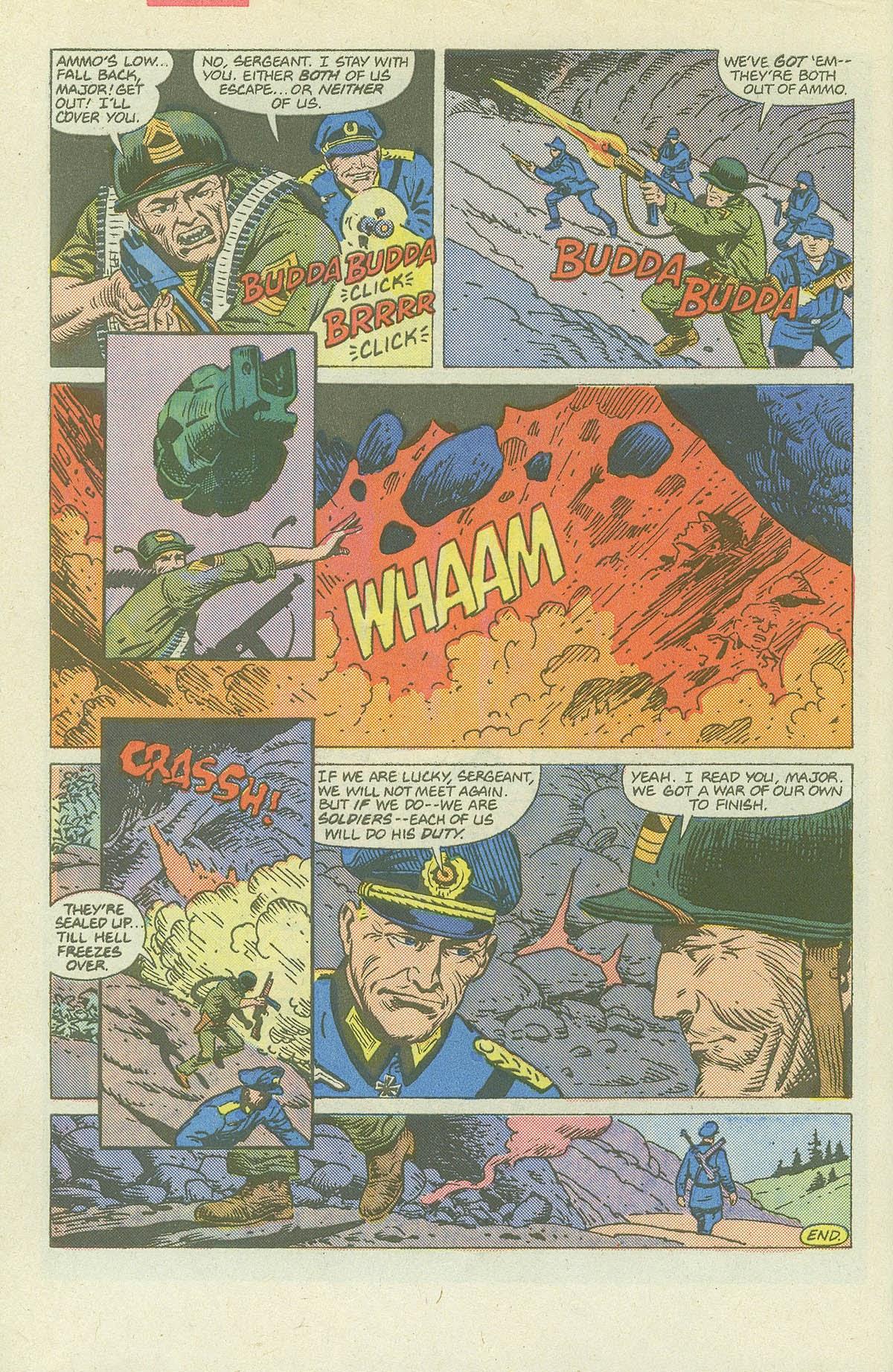 Read online Sgt. Rock comic -  Issue #420 - 31