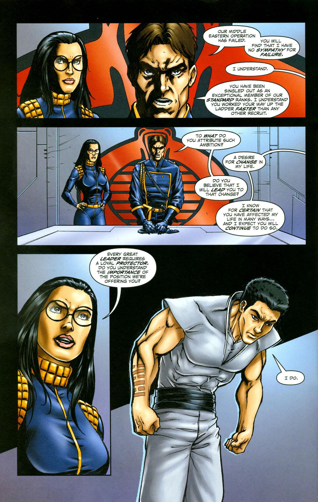 Read online Snake Eyes: Declassified comic -  Issue #6 - 19