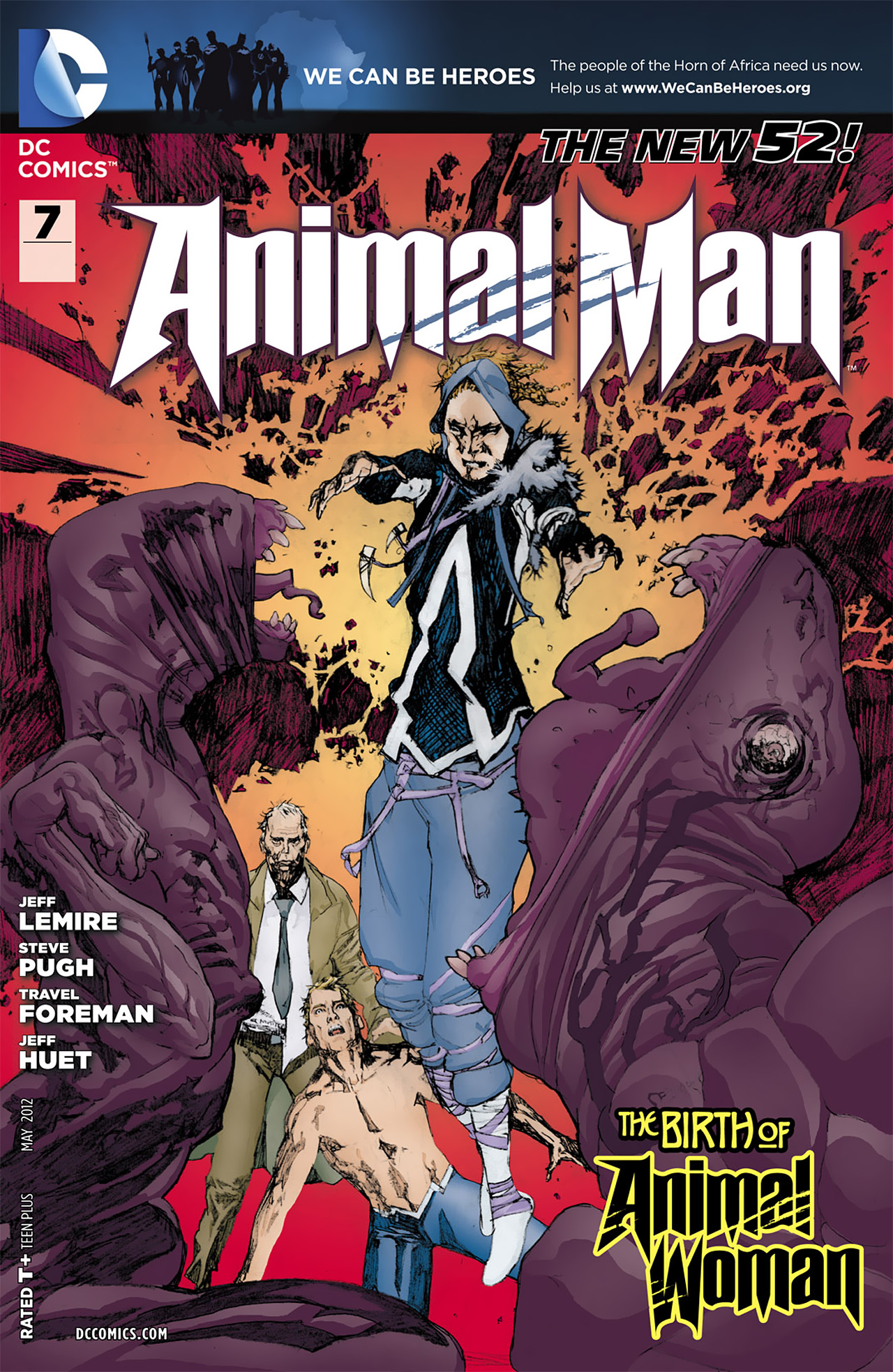Animal Man (2011) 7 Page 1