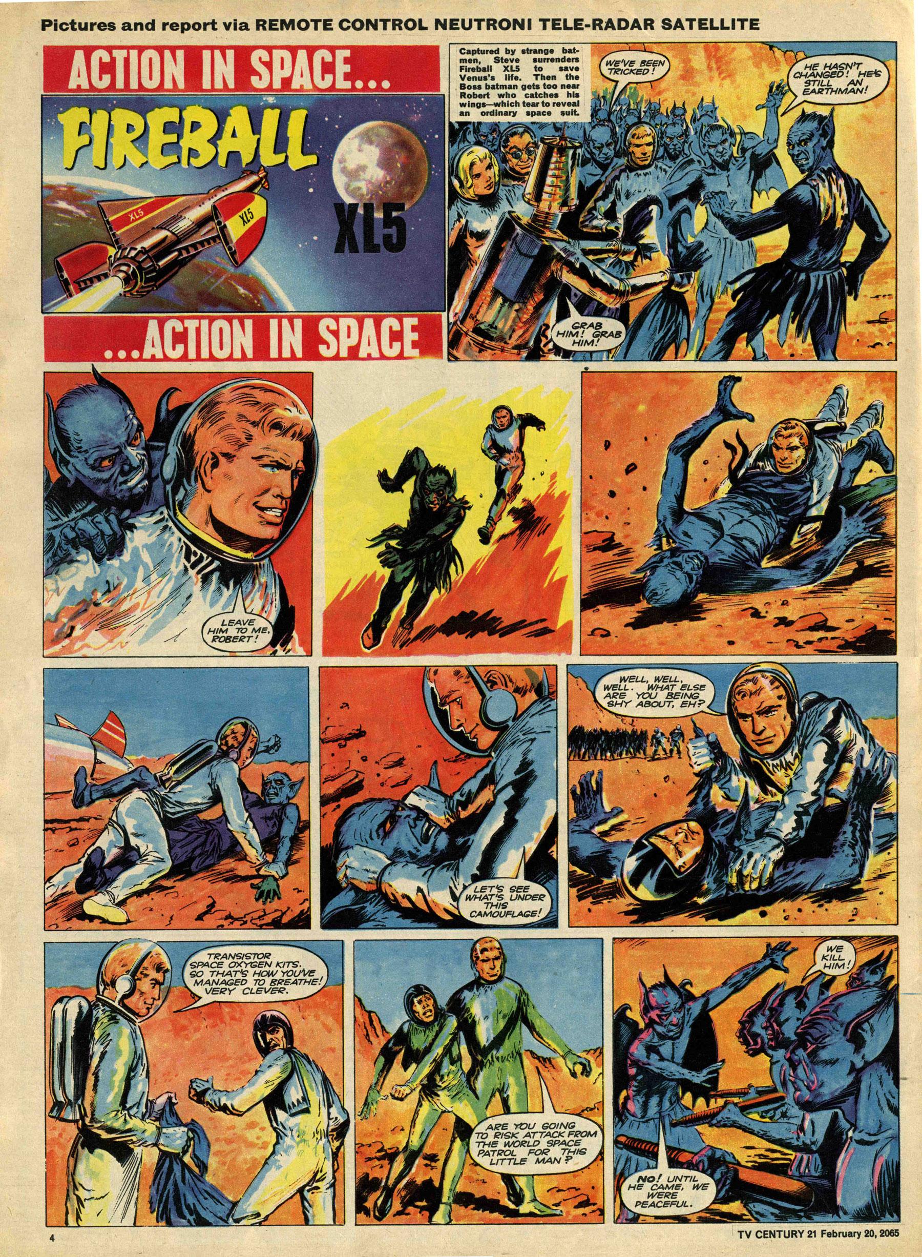 Read online TV Century 21 (TV 21) comic -  Issue #5 - 4