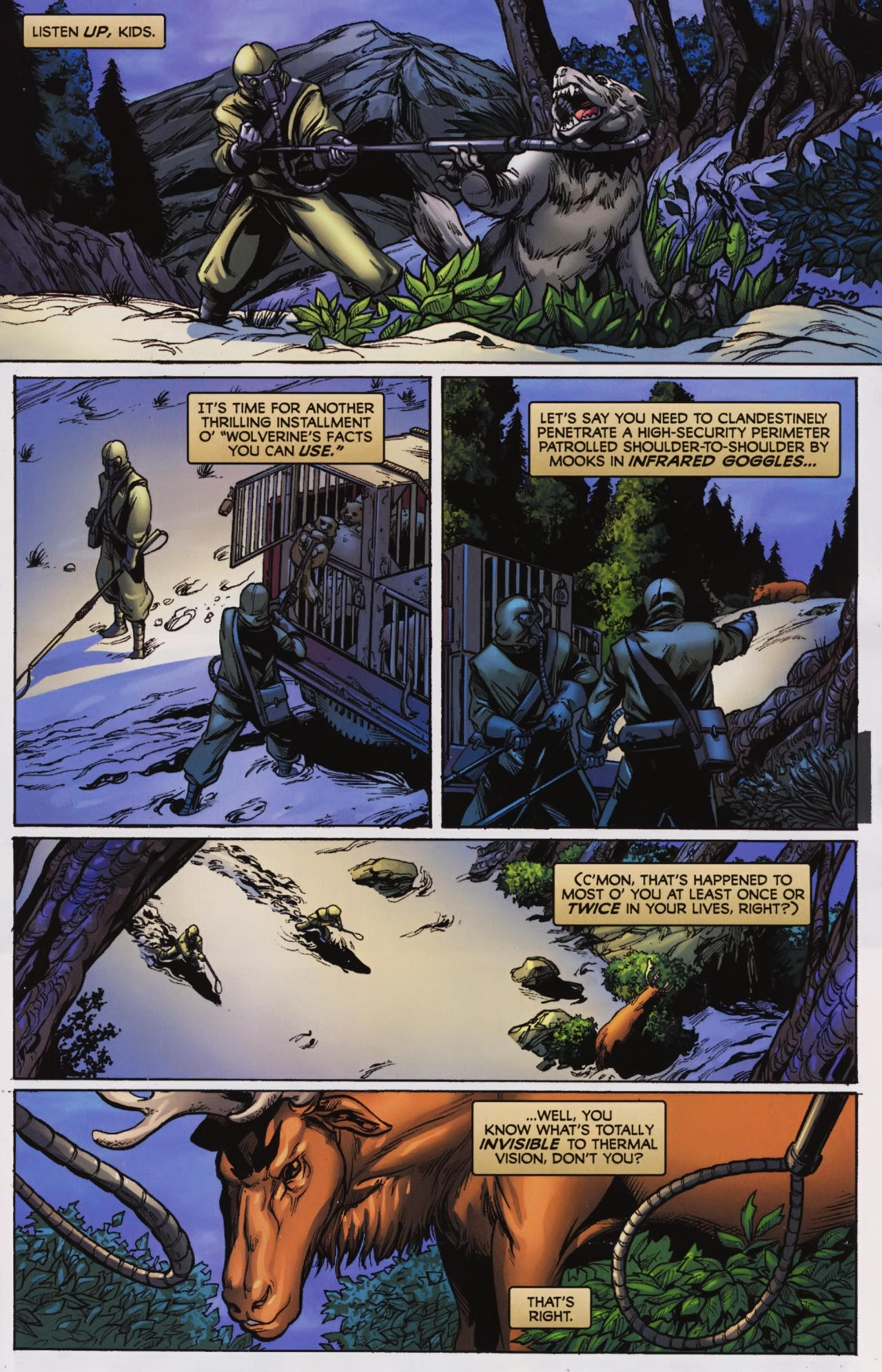 Read online Wolverine: First Class comic -  Issue #7 - 2