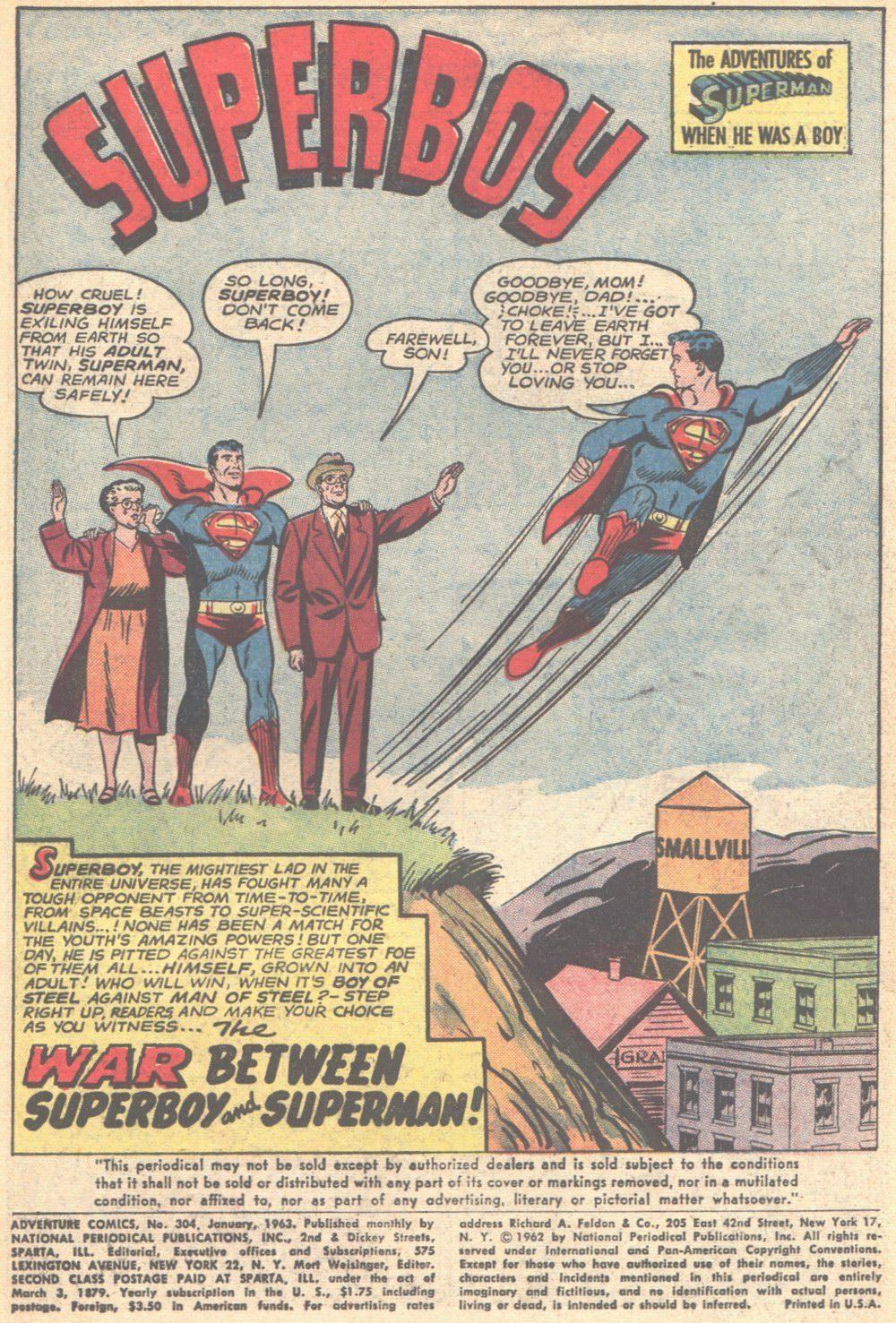 Read online Adventure Comics (1938) comic -  Issue #304 - 3