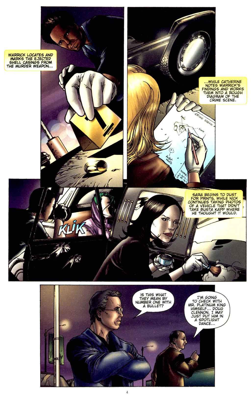 Read online CSI: Crime Scene Investigation: Bad Rap comic -  Issue #2 - 5