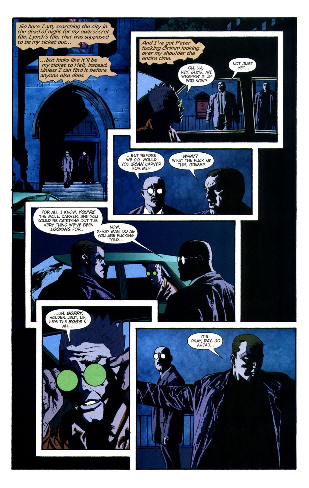 Read online Sleeper comic -  Issue #9 - 9