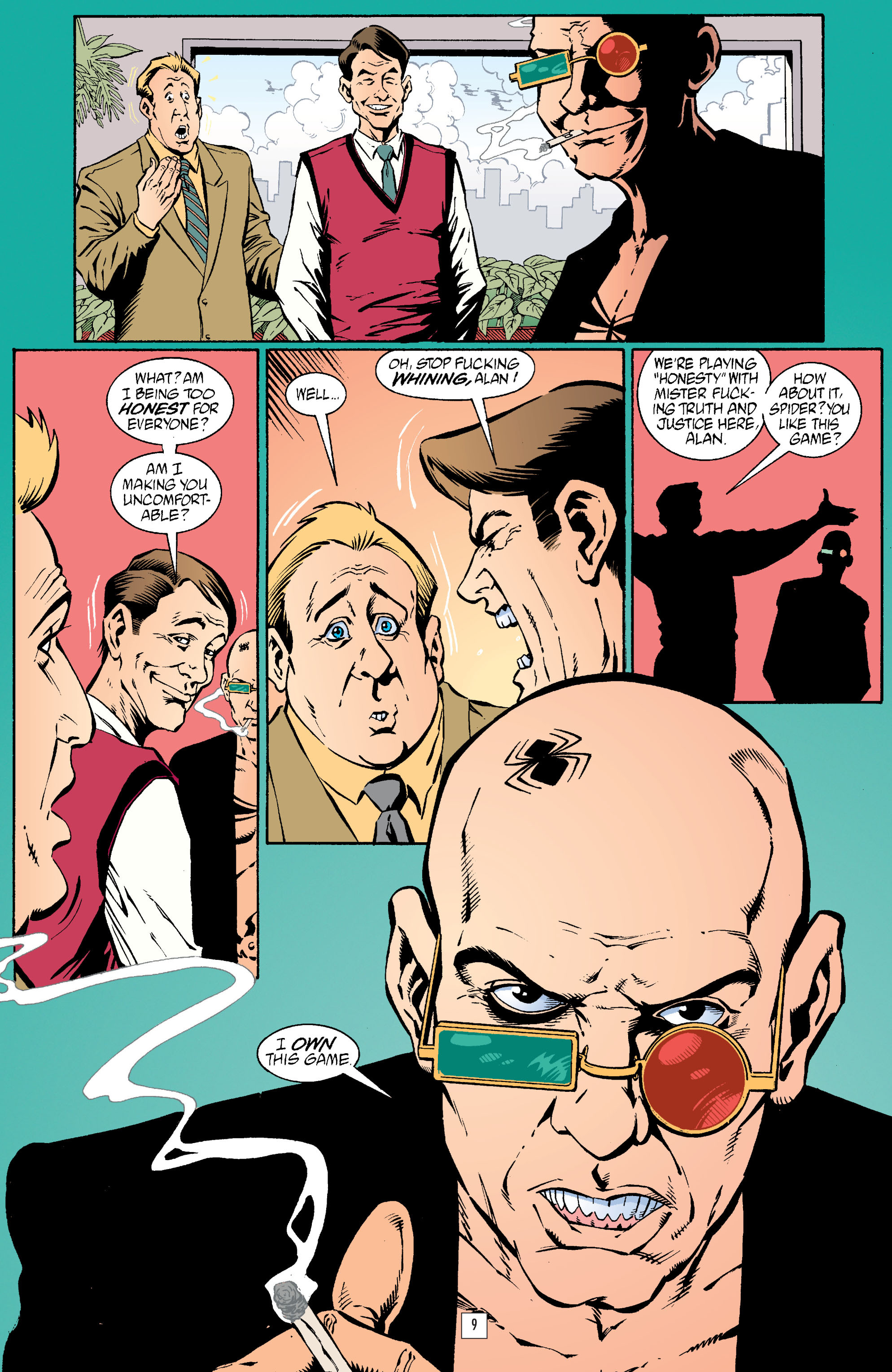 Read online Transmetropolitan comic -  Issue #23 - 10