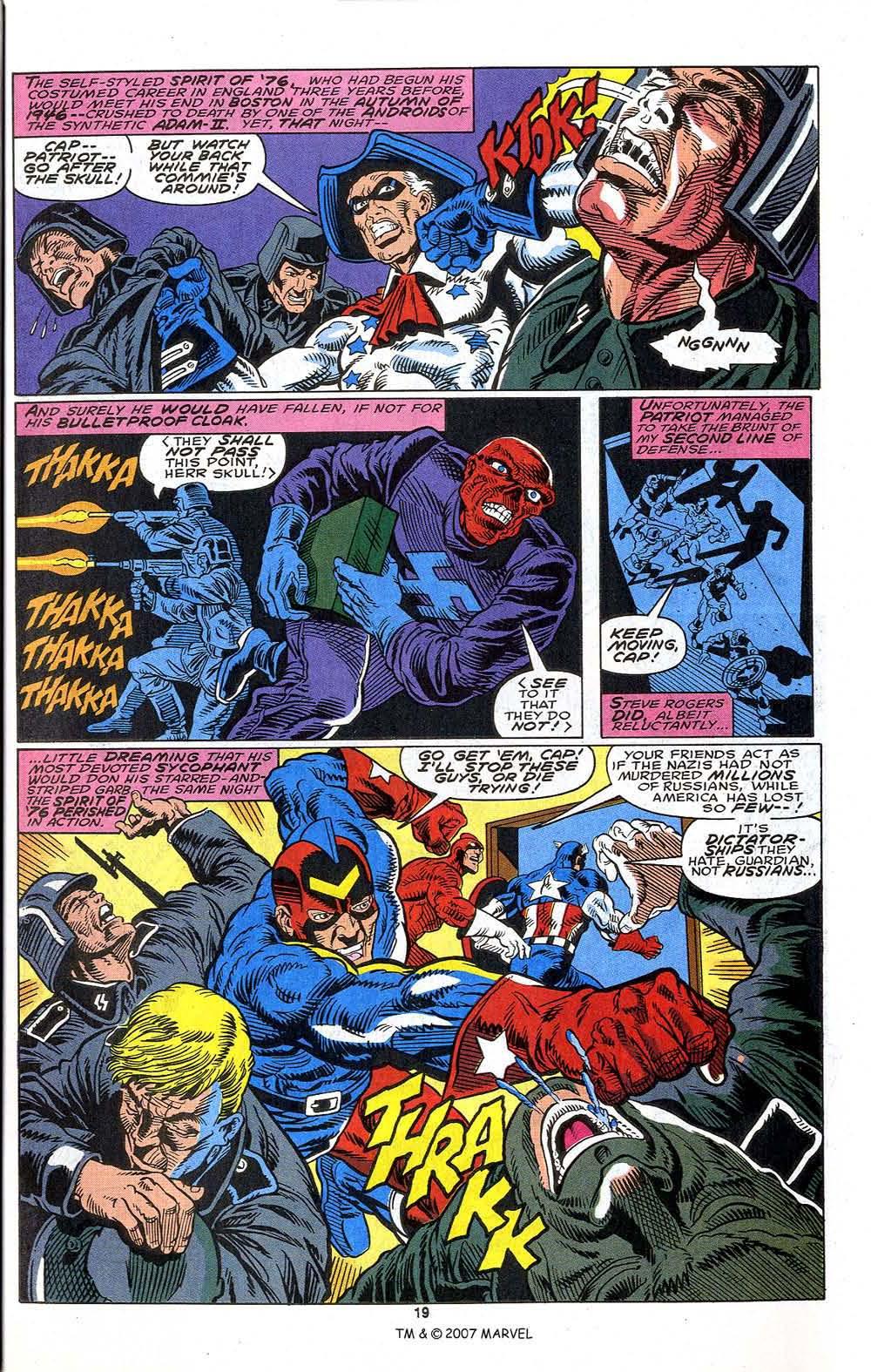 Read online Captain America (1968) comic -  Issue # _Annual 13 - 21