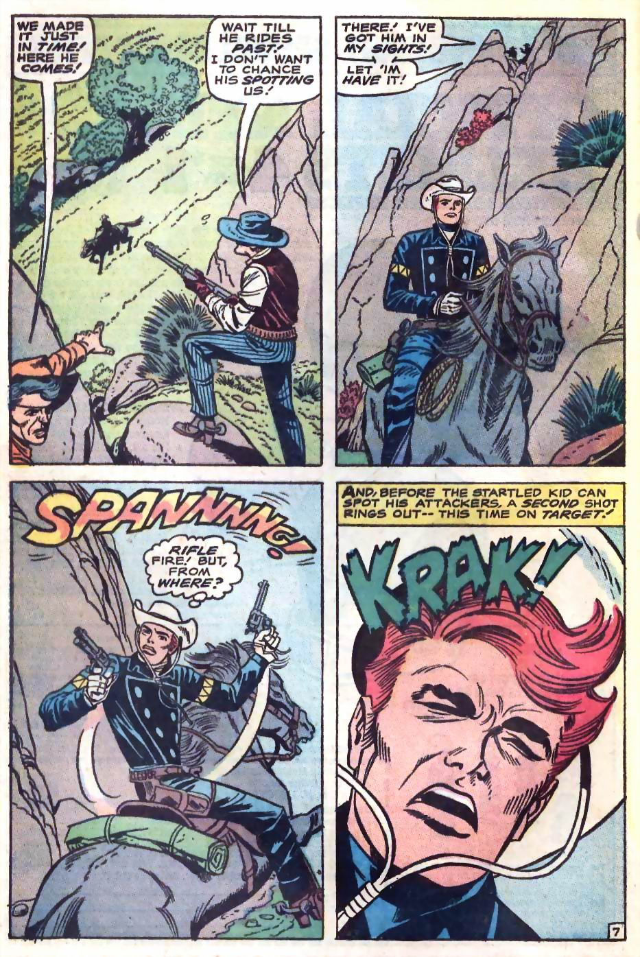 The Rawhide Kid (1955) issue 75 - Page 12