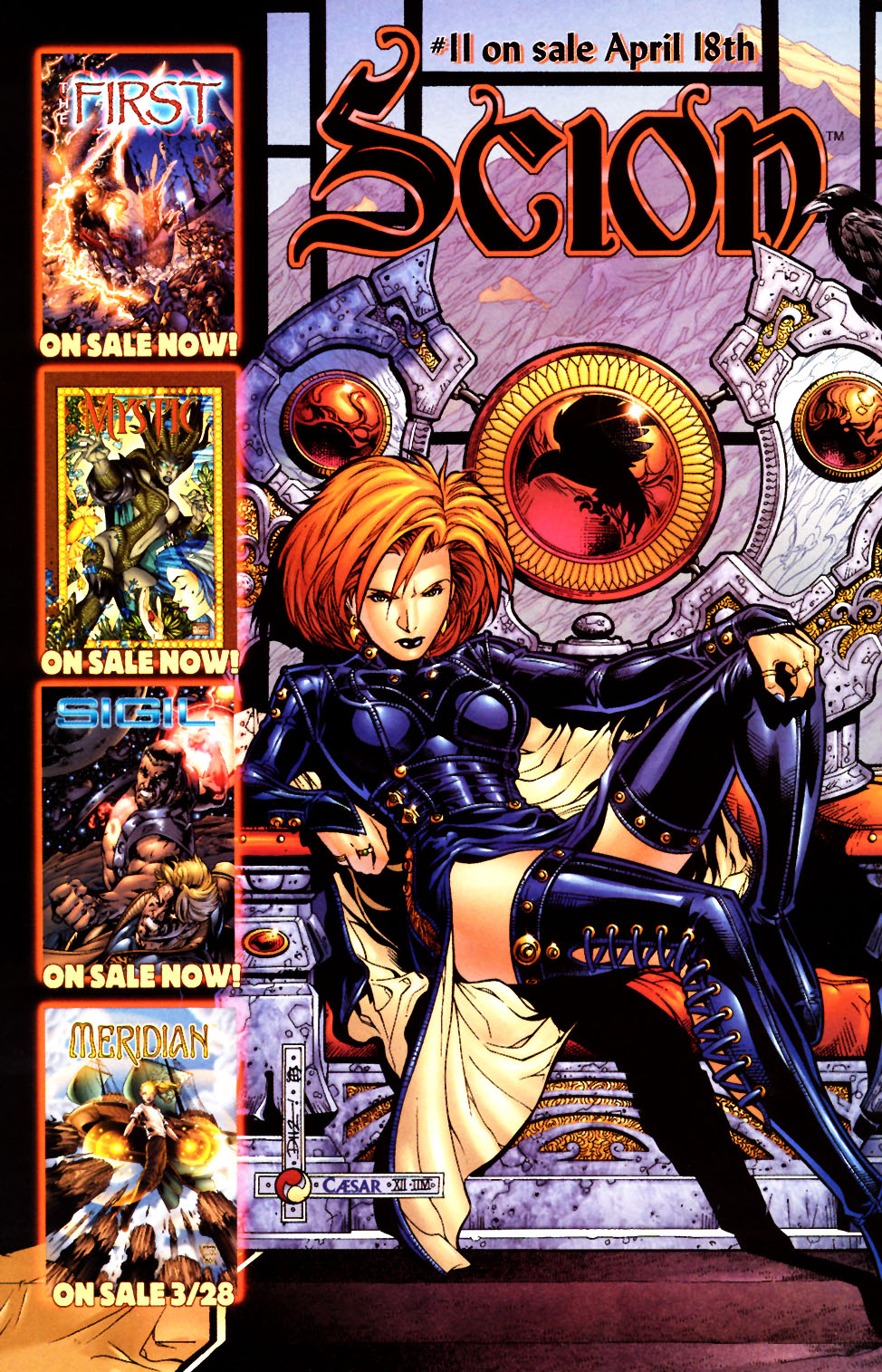 Read online Scion comic -  Issue #10 - 24