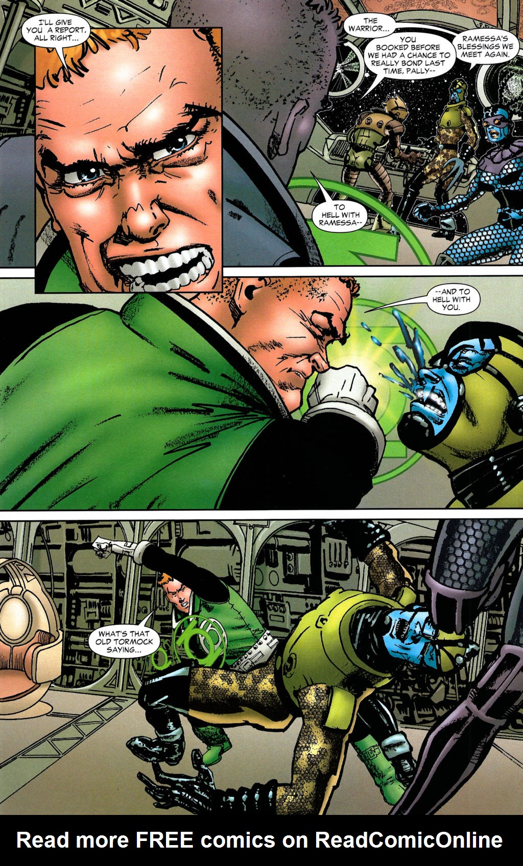 Read online Guy Gardner: Collateral Damage comic -  Issue #2 - 27