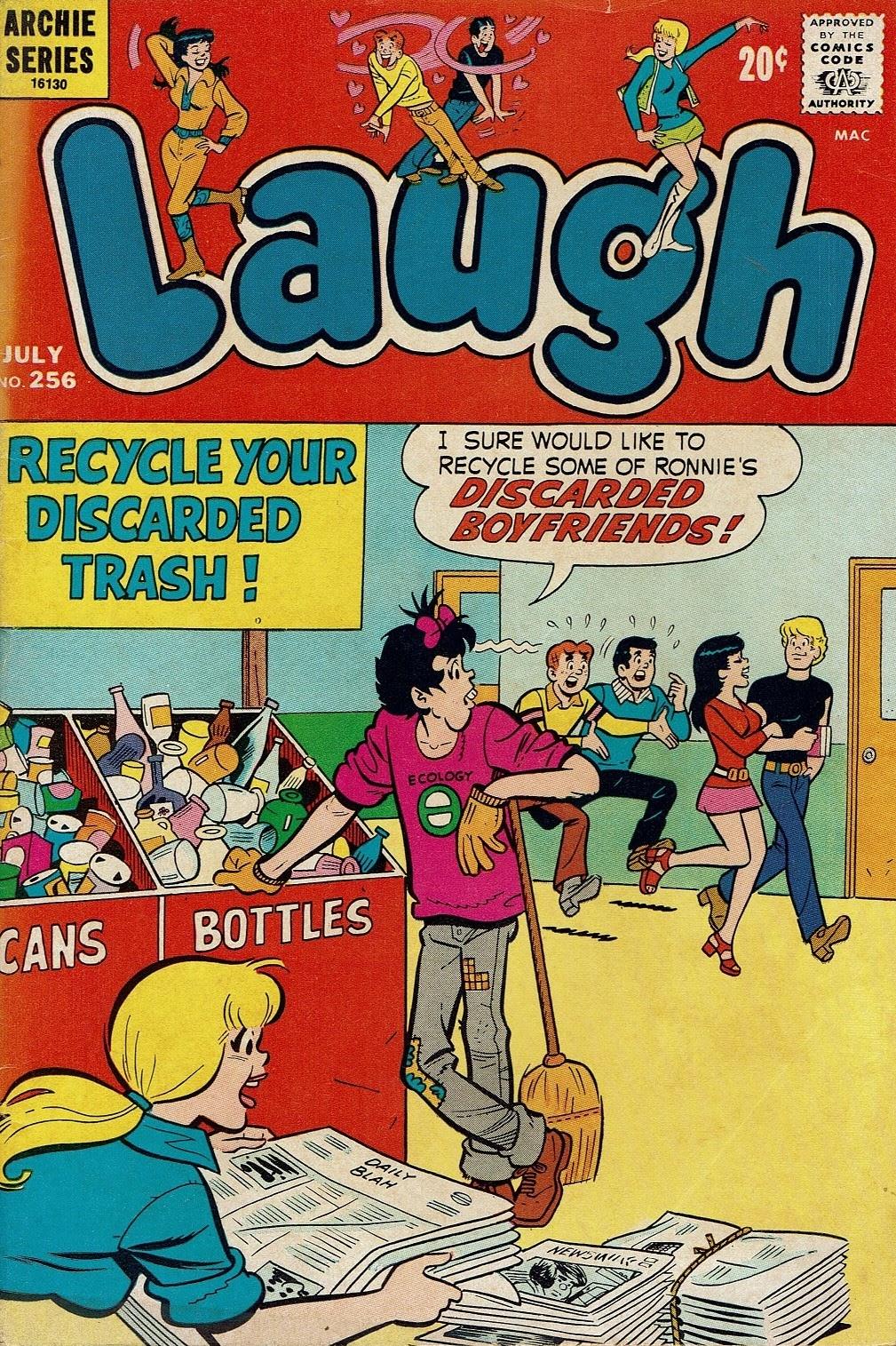 Laugh (Comics) 256 Page 1