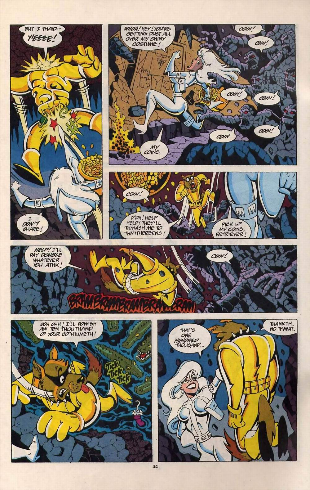 Read online Silver Sable and the Wild Pack comic -  Issue #25 - 37