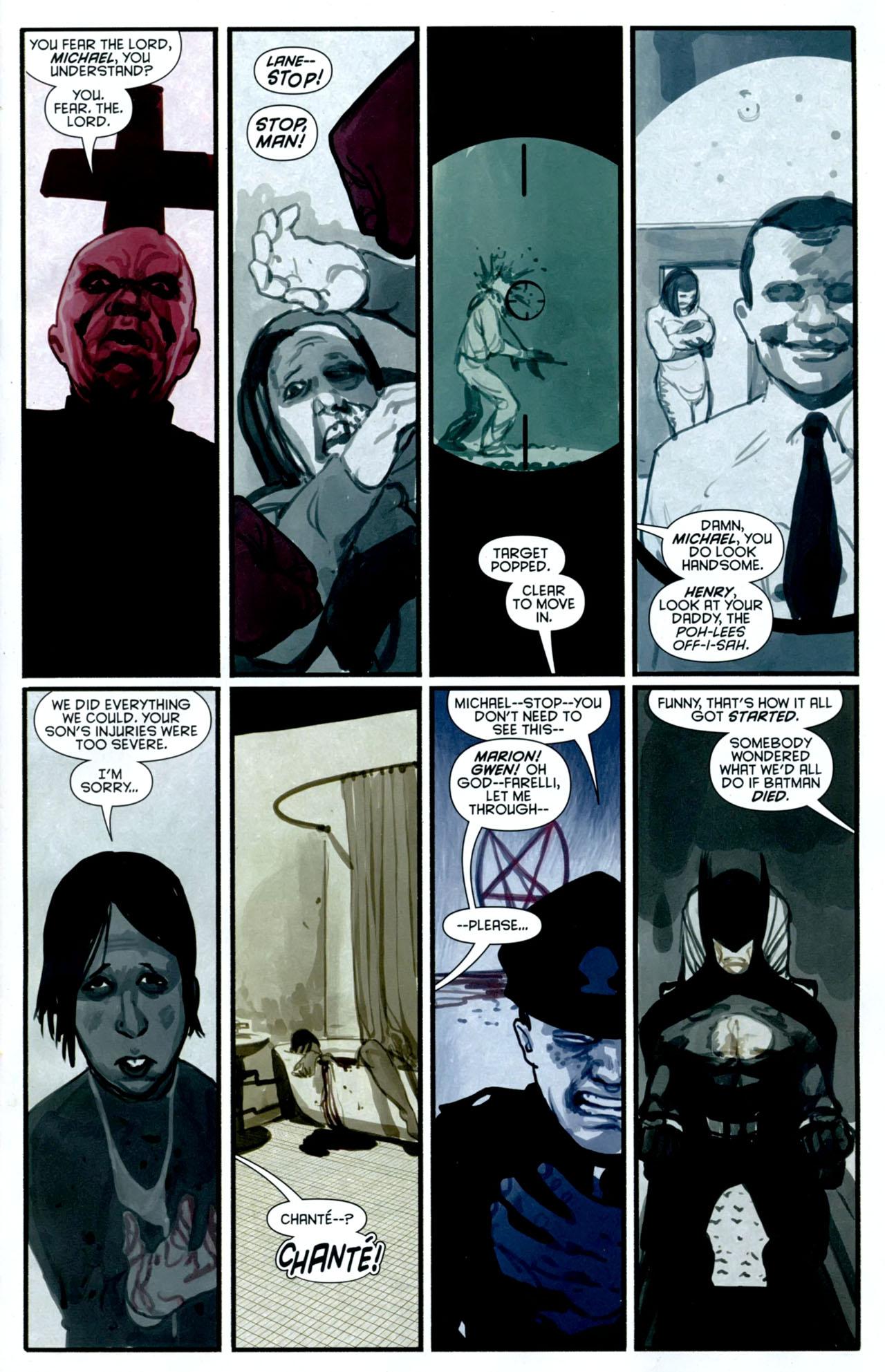 Read online Azrael: Death's Dark Knight comic -  Issue #2 - 3