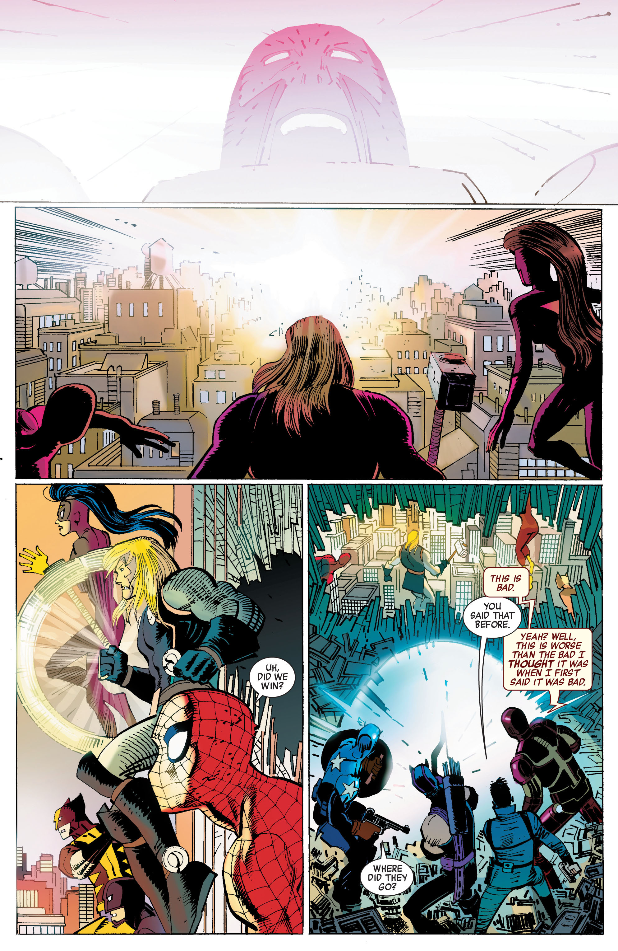 Read online Avengers (2010) comic -  Issue #3 - 17