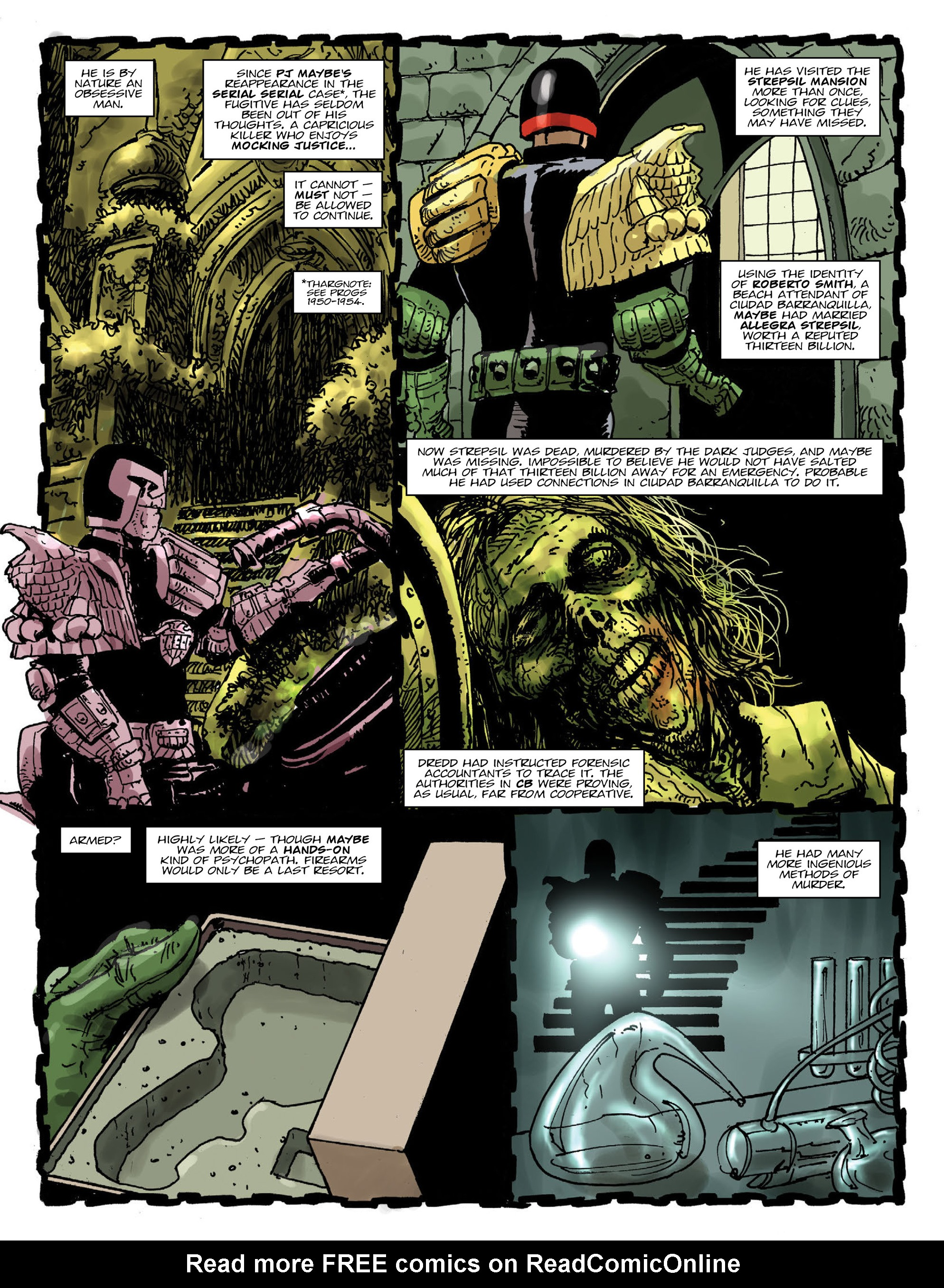 Read online 2000 AD comic -  Issue #1991 - 4