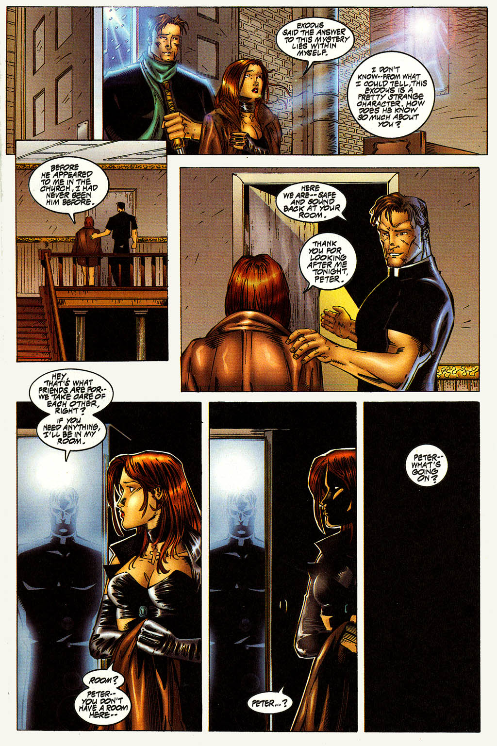 Read online Avengelyne (1996) comic -  Issue #10 - 18