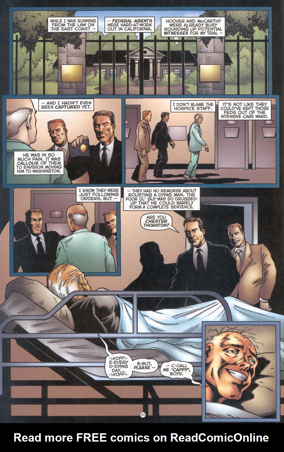Read online Doctor Tomorrow comic -  Issue #4 - 19