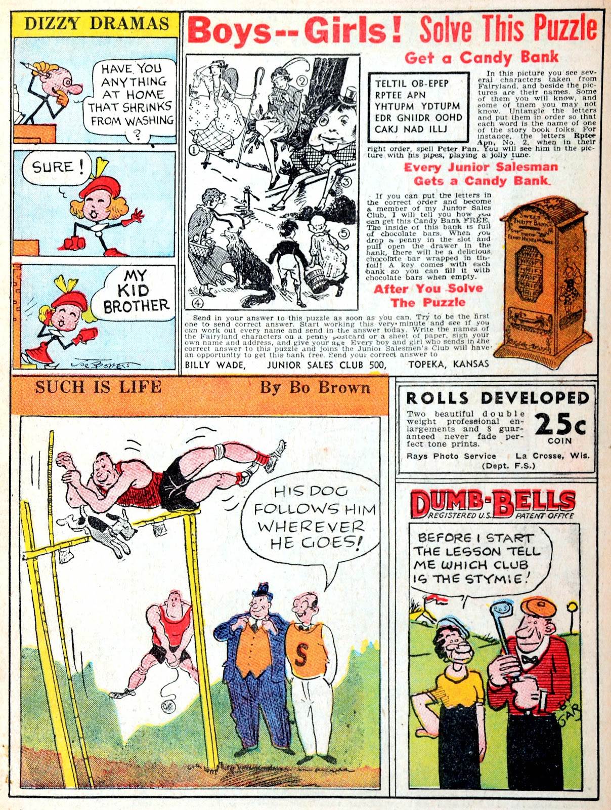 Read online Famous Funnies comic -  Issue #38 - 13