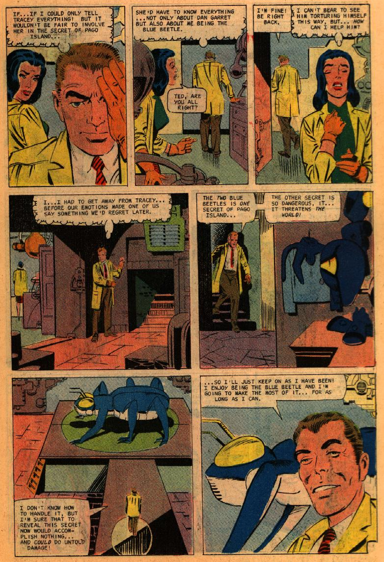 Blue Beetle (1967) issue 1 - Page 11