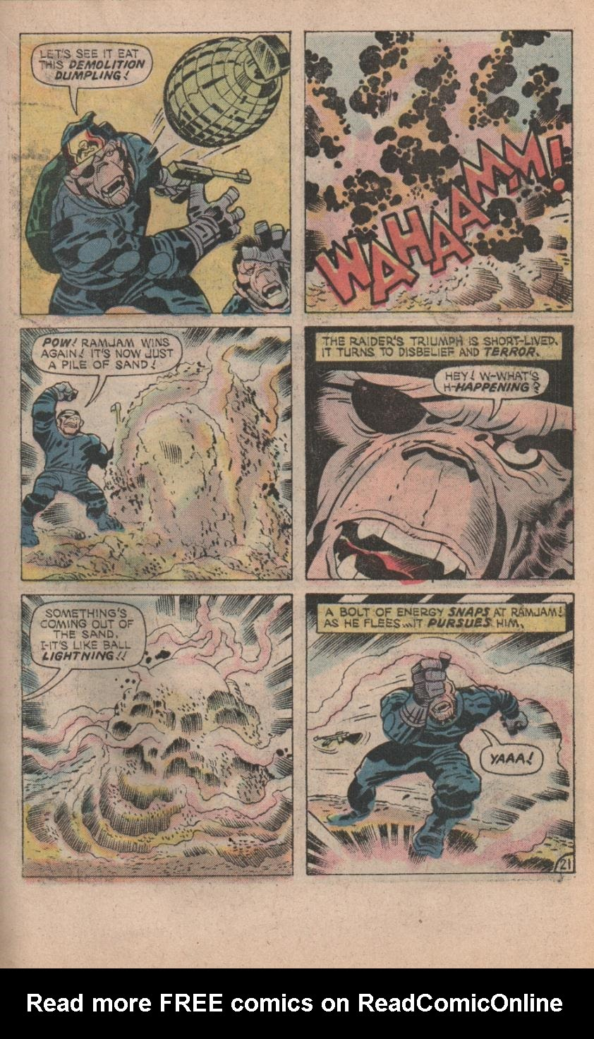 Kamandi, The Last Boy On Earth issue 32 - Page 23