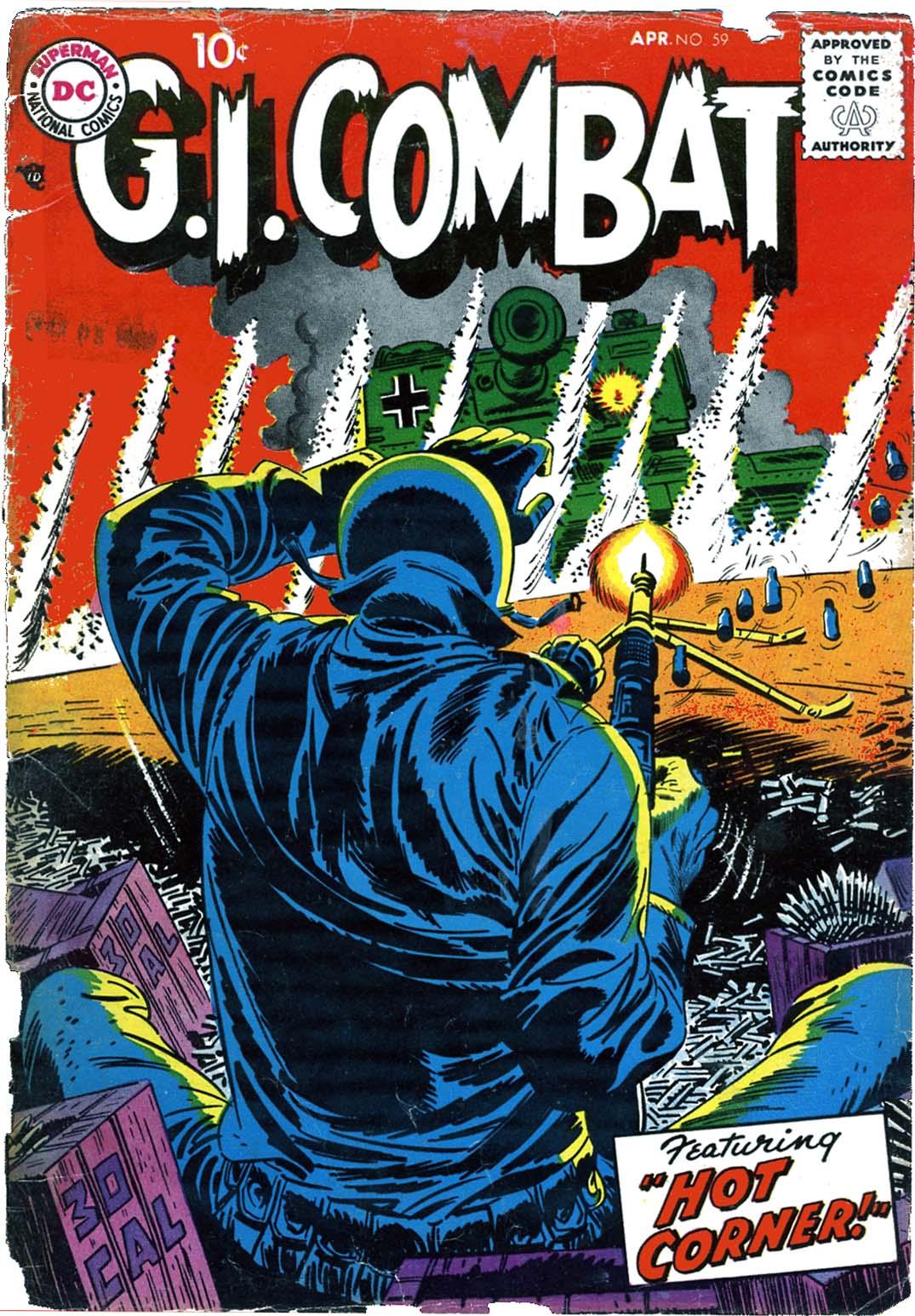 G.I. Combat (1952) 59 Page 1
