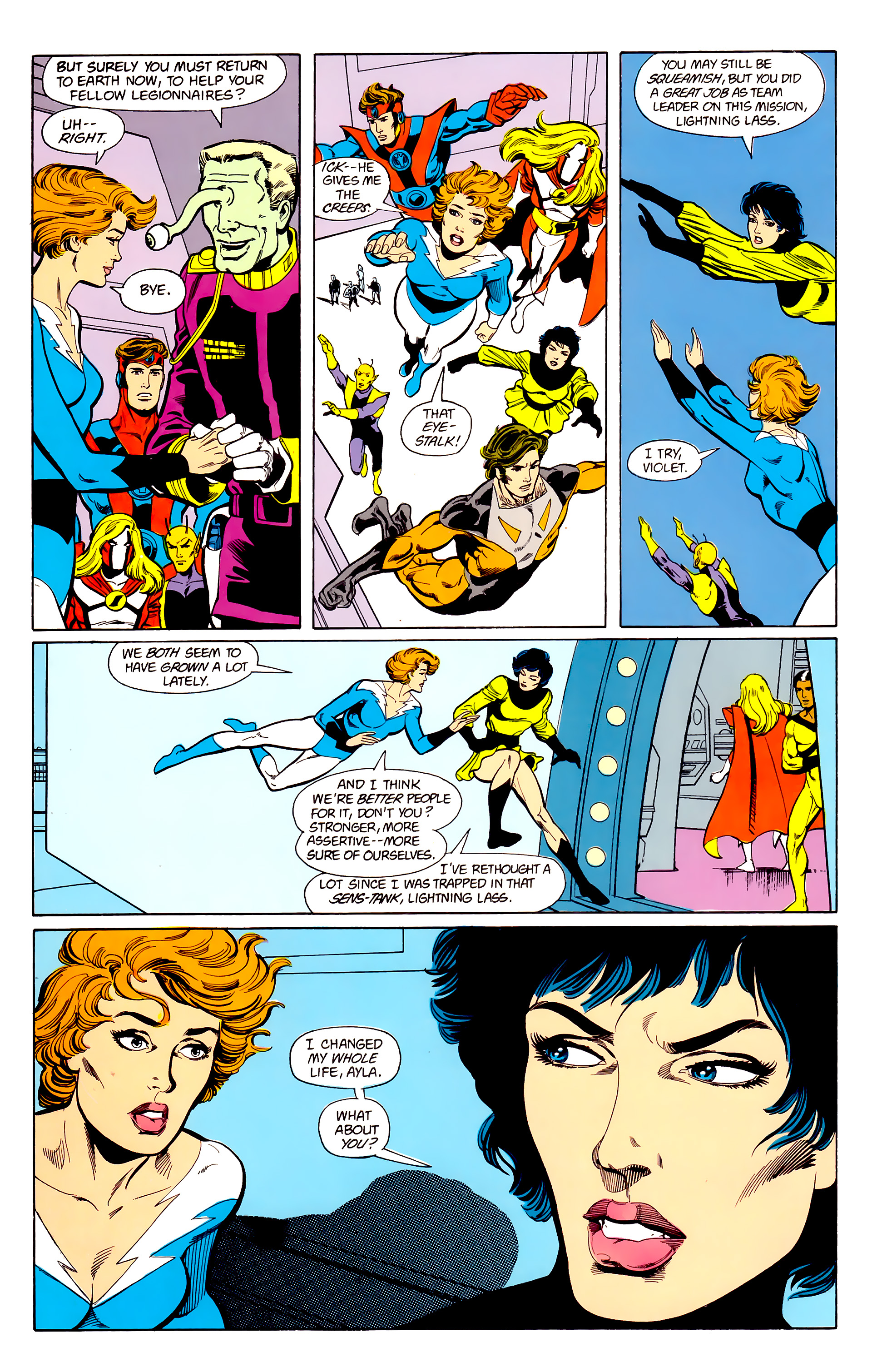 Legion of Super-Heroes (1984) 22 Page 17