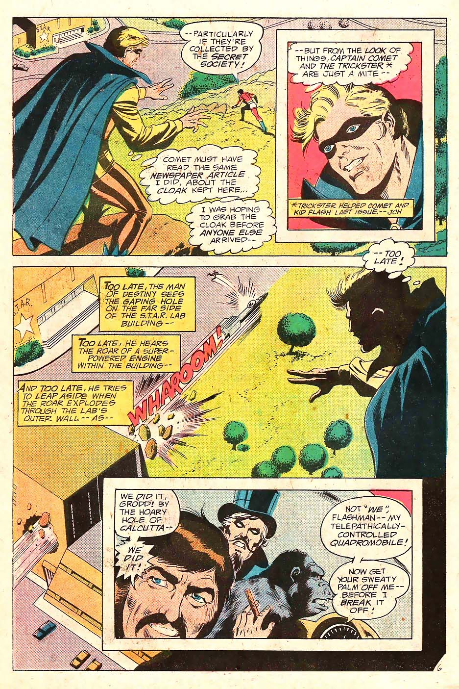 Read online Secret Society of Super-Villains comic -  Issue #10 - 7