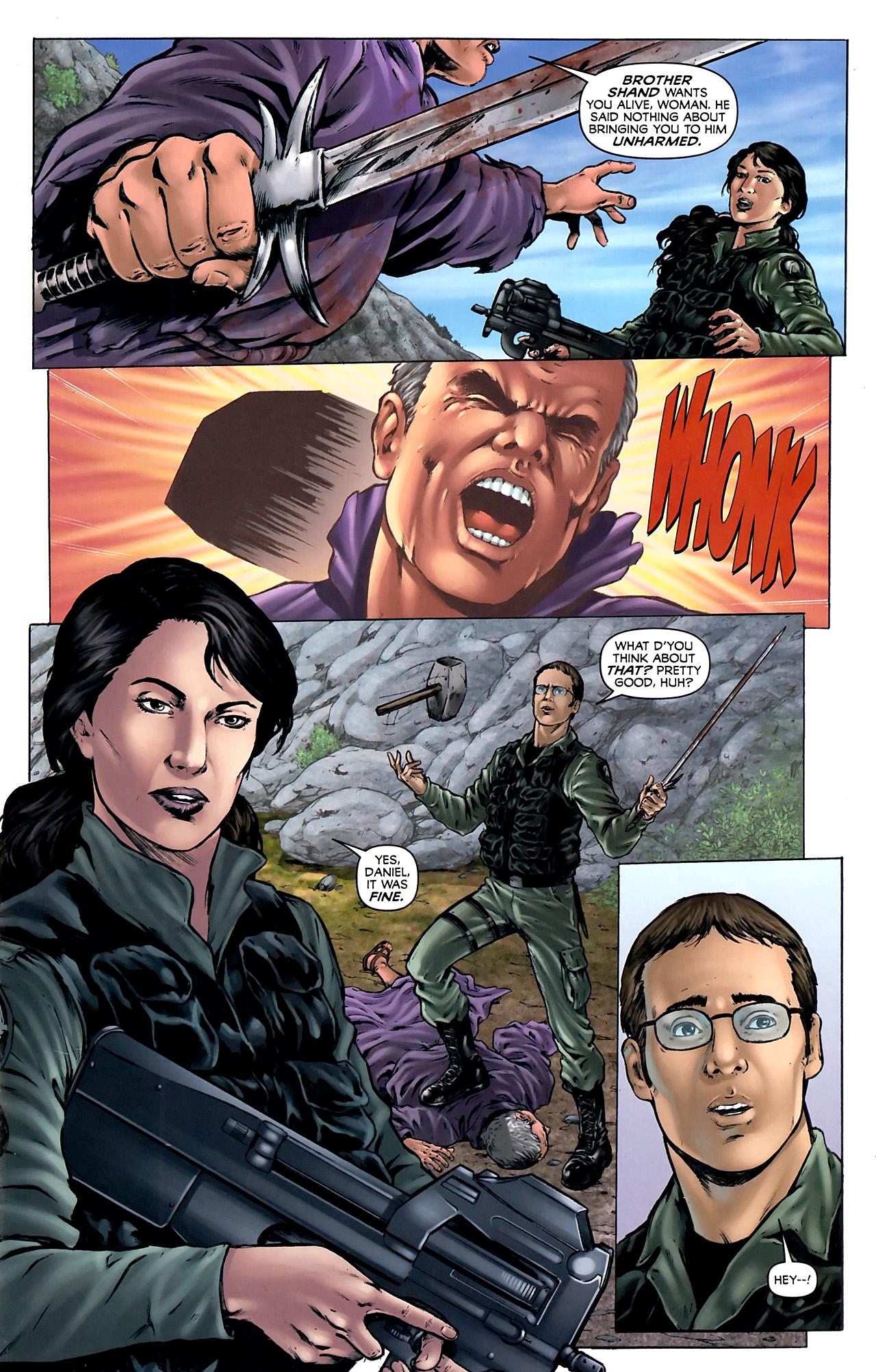 Read online Stargate Vala Mal Doran comic -  Issue #4 - 8