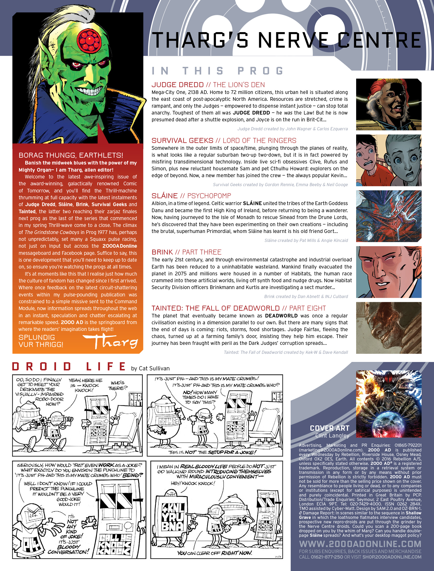 Read online 2000 AD comic -  Issue #1980 - 2