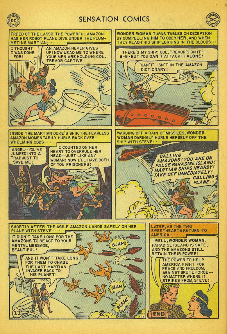 Read online Sensation (Mystery) Comics comic -  Issue #104 - 14