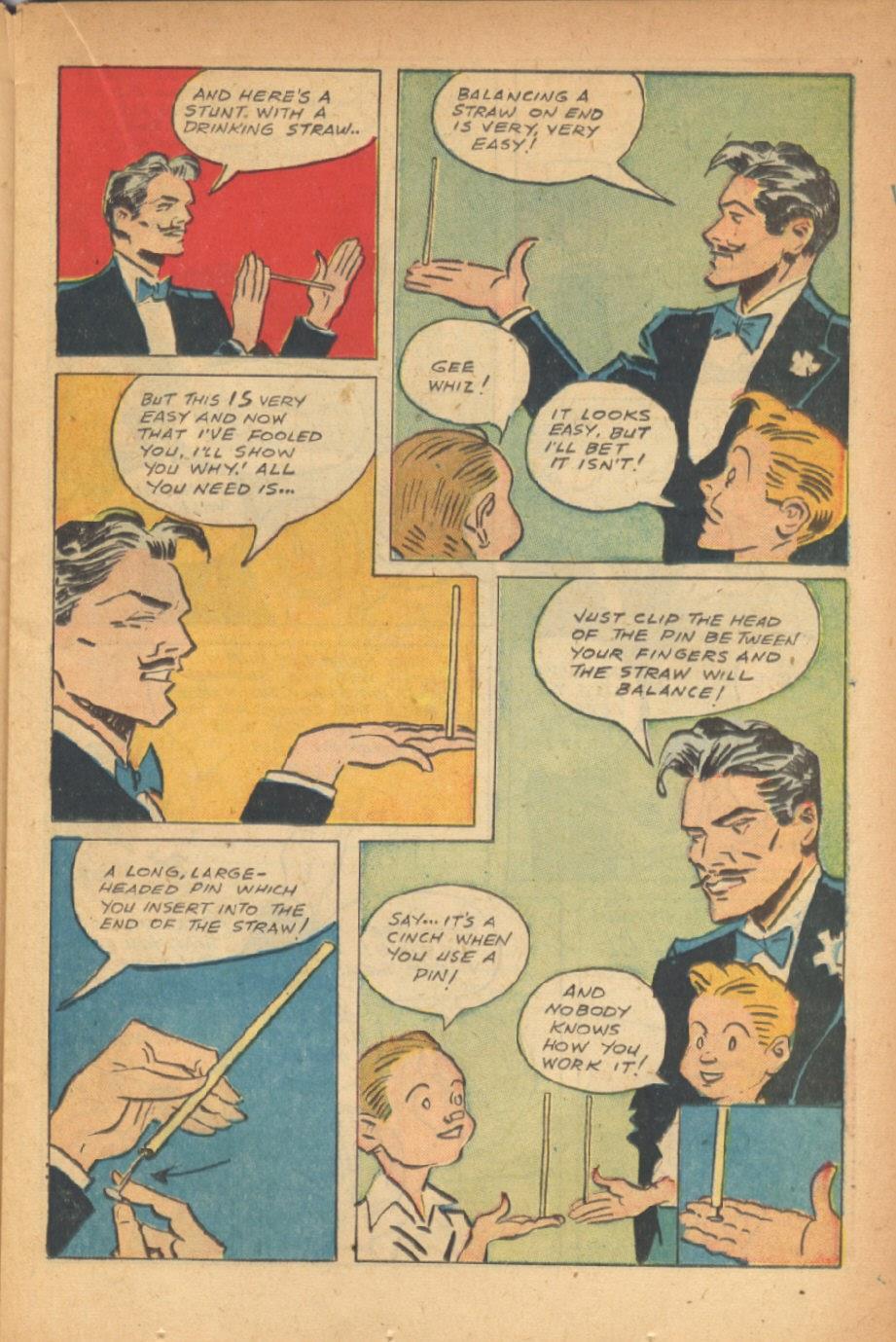 Read online Super-Magician Comics comic -  Issue #47 - 19