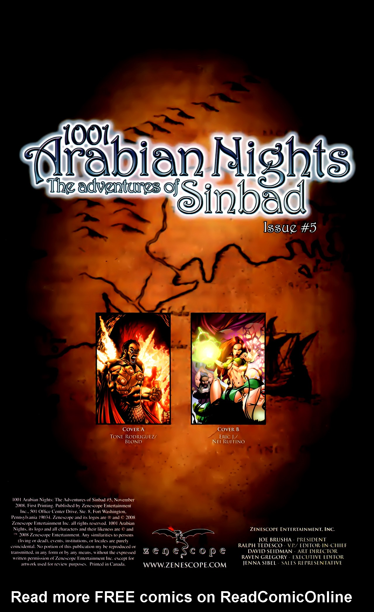 Read online 1001 Arabian Nights: The Adventures of Sinbad comic -  Issue #5 - 3