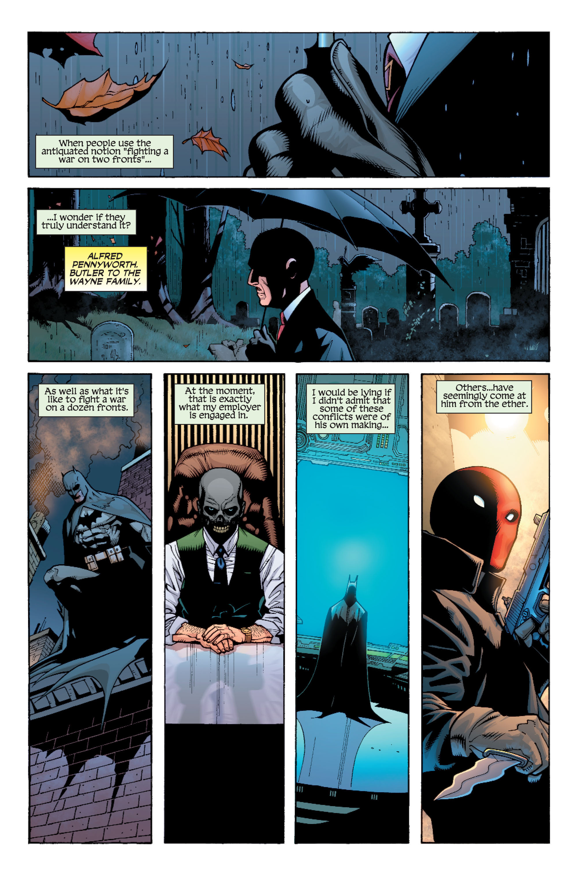 Read online Batman: Under The Red Hood comic -  Issue # Full - 176