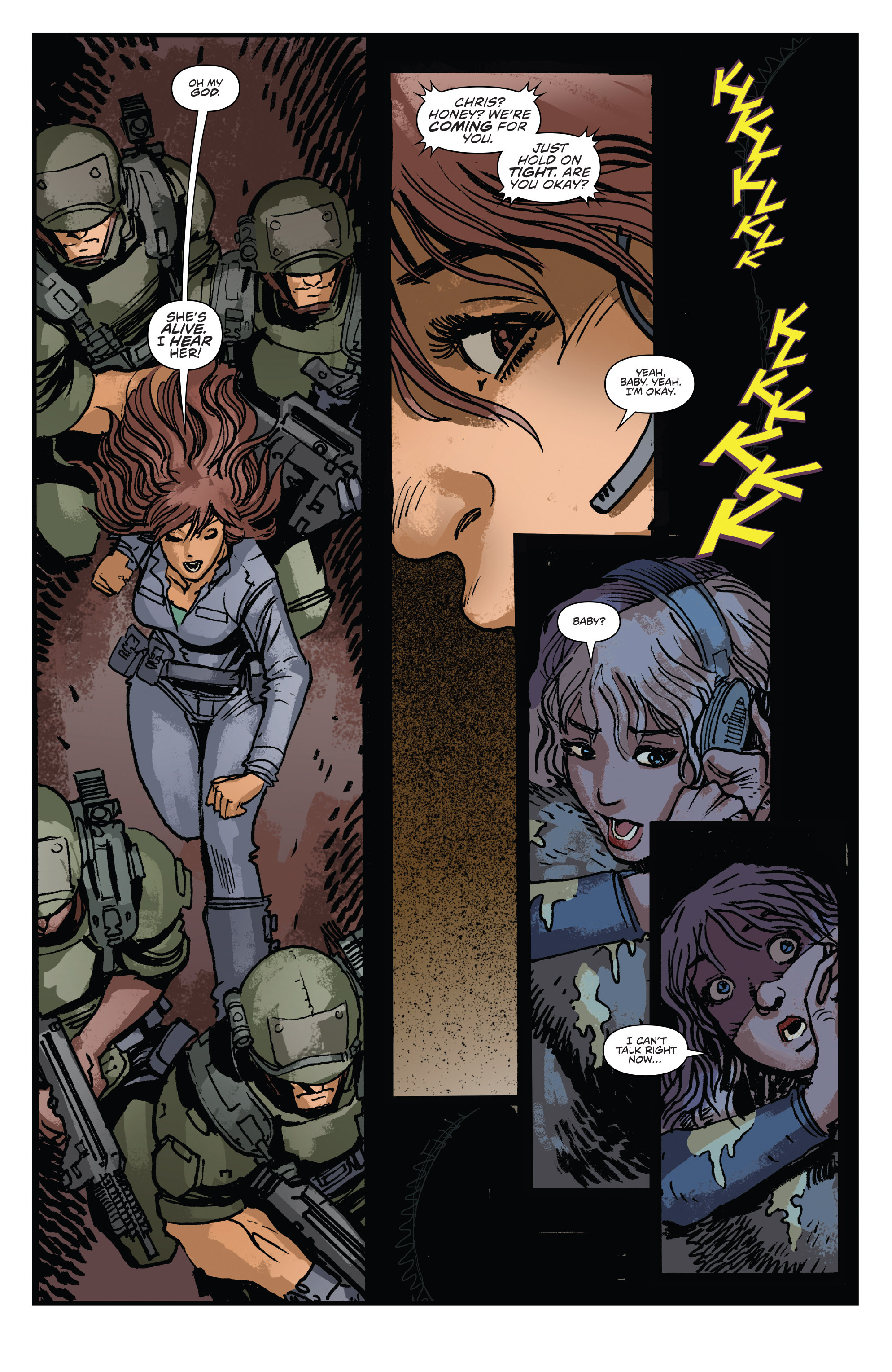 Read online Aliens: Life And Death comic -  Issue #2 - 23