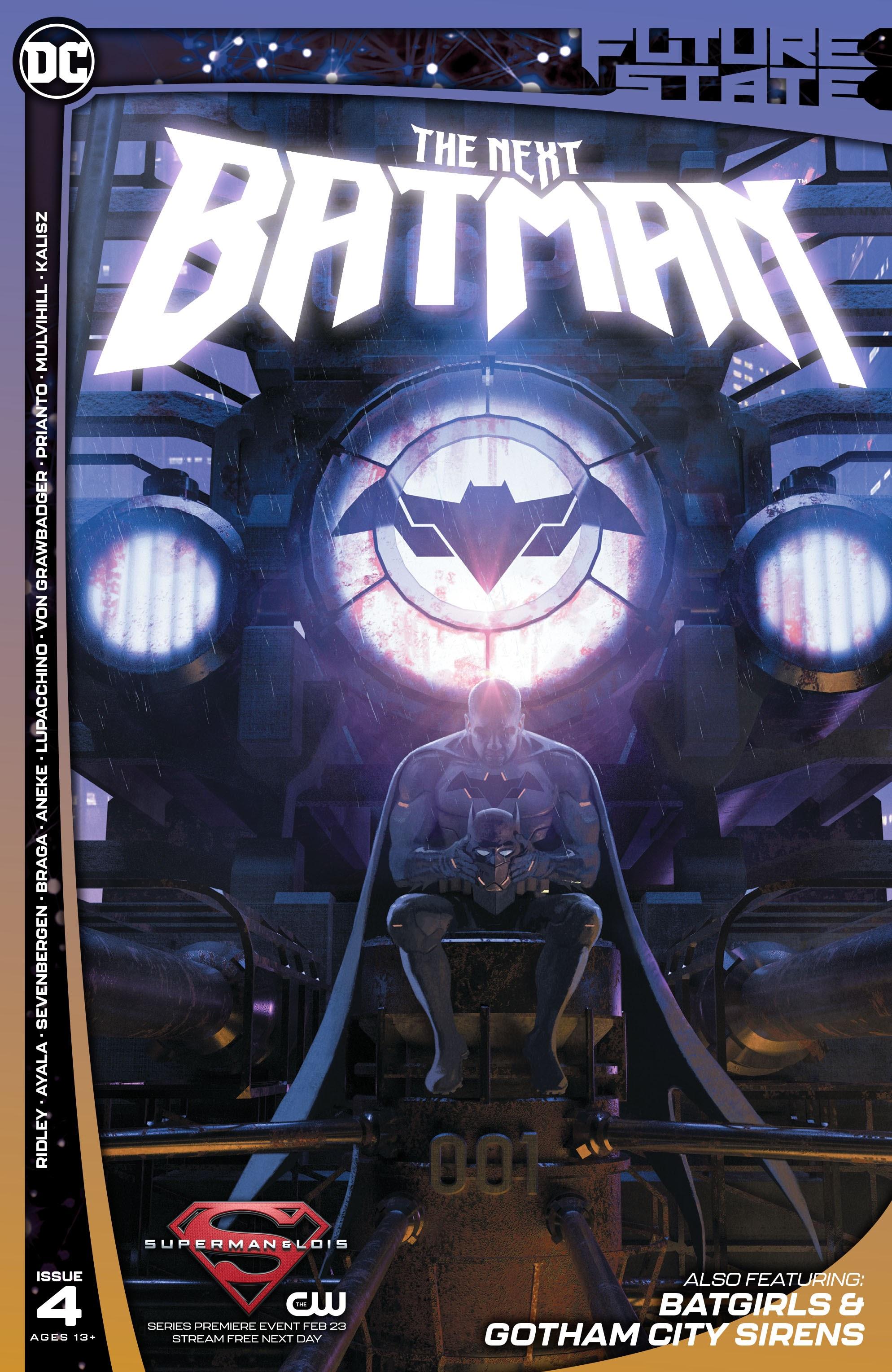 Future State: The Next Batman 4 Page 1
