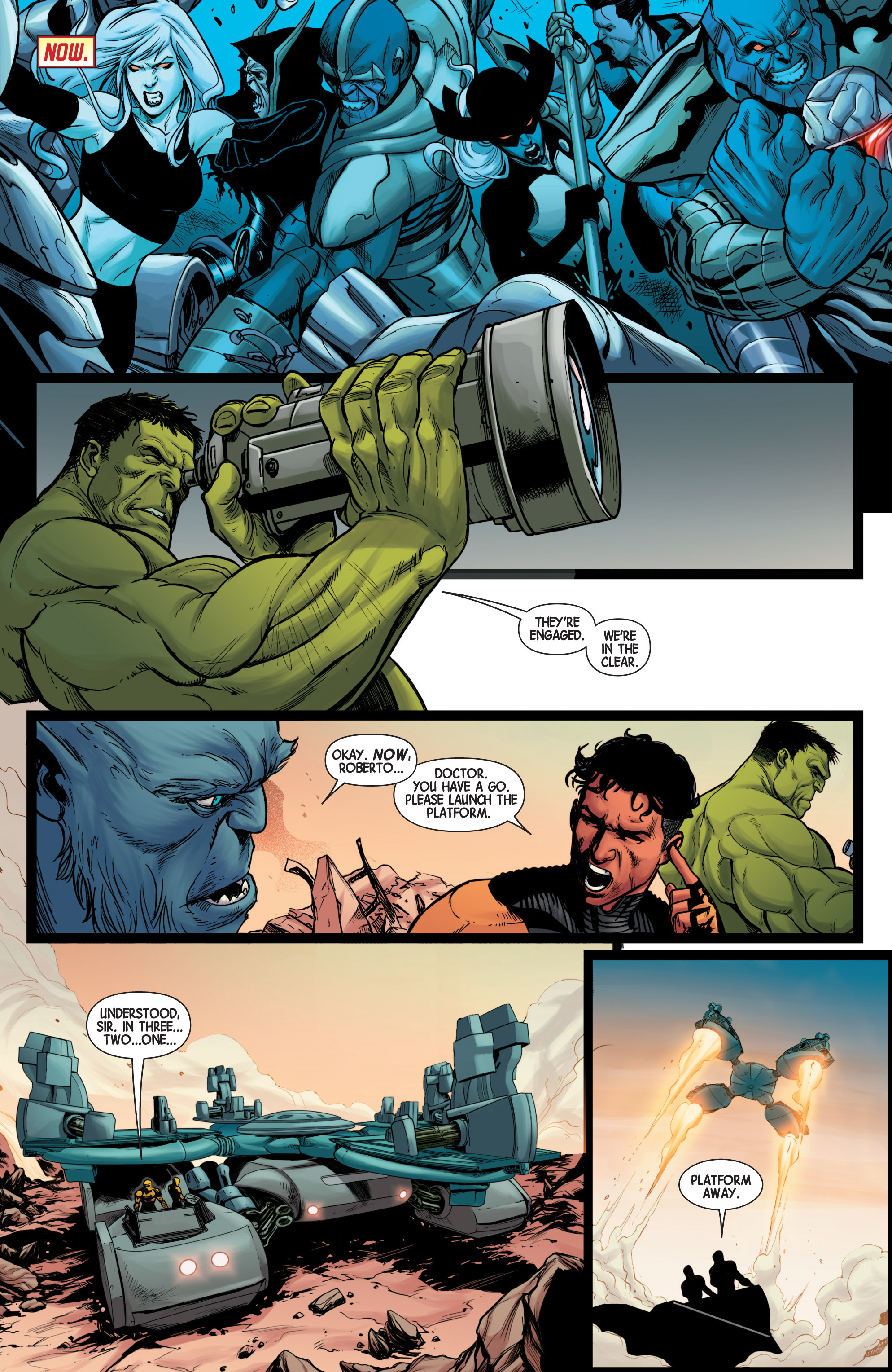 Read online Avengers (2013) comic -  Issue #40 - 21